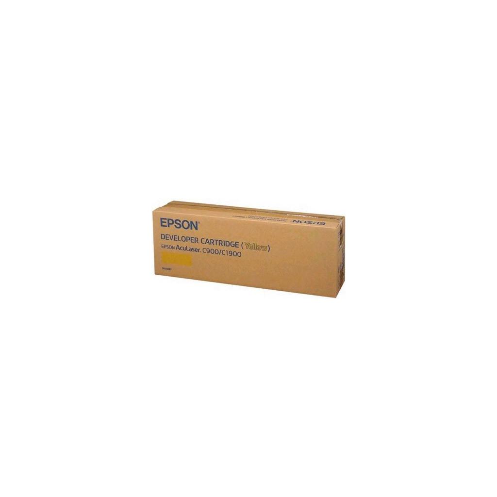 Картридж EPSON AcuLaser C900/ C1900 yellow (C13S050097)