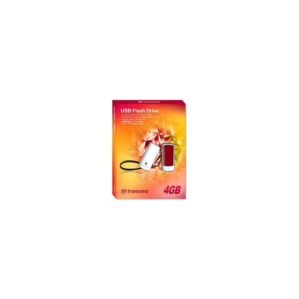 USB флеш накопитель Transcend 4Gb JetFlash V95С (TS4GJFV95C) изображение 2
