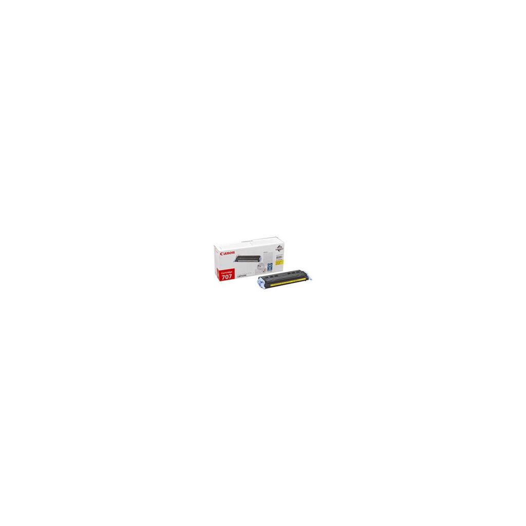 Картридж Canon 707 yellow для LBP-5000 (9421A004)