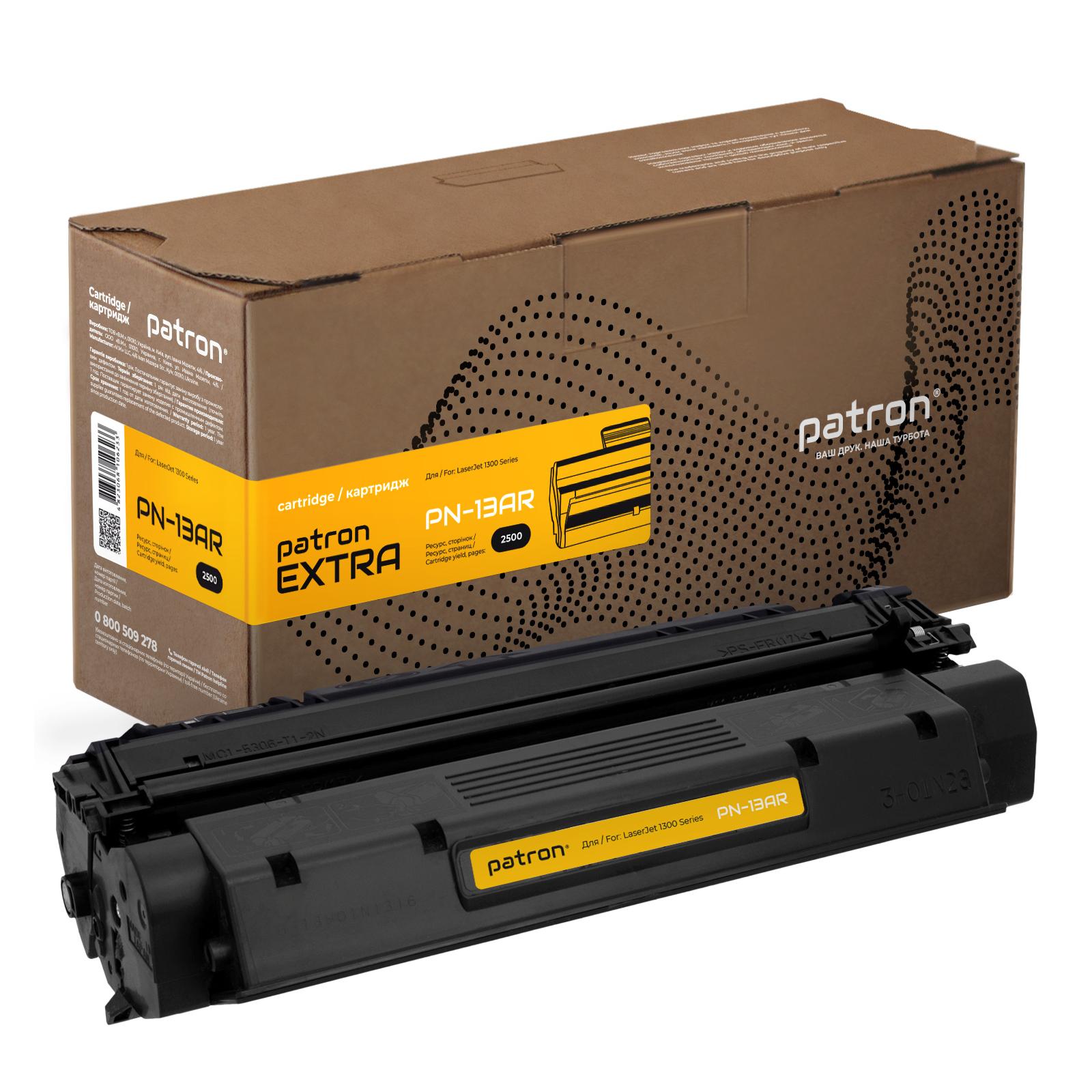 Картридж PATRON HP LJ1300 Series(PN-13AR) Extra (CT-HP-Q2613A-PN-R)