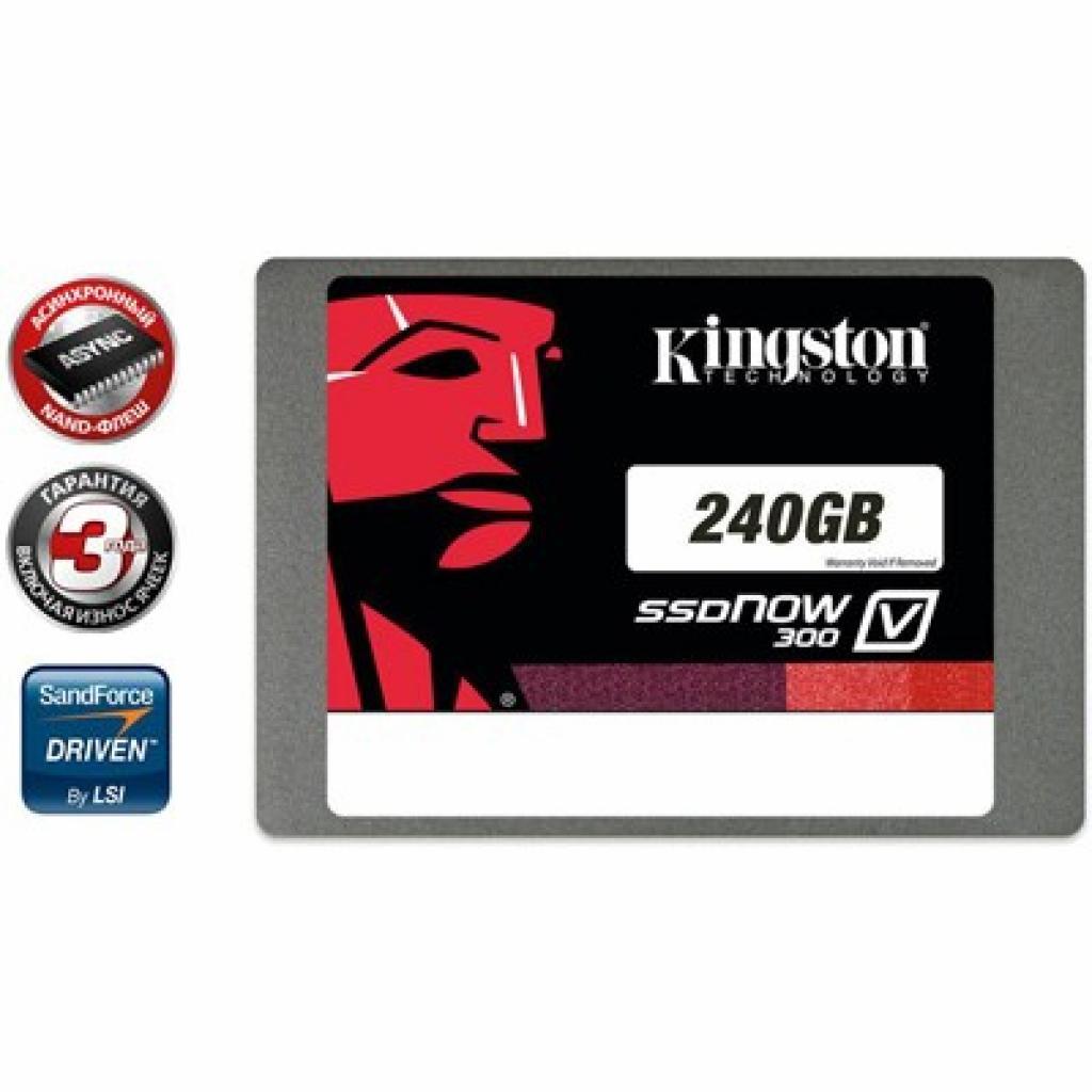 """Накопитель SSD 2.5"""" 240GB Kingston (SV300S37A/240G)"""