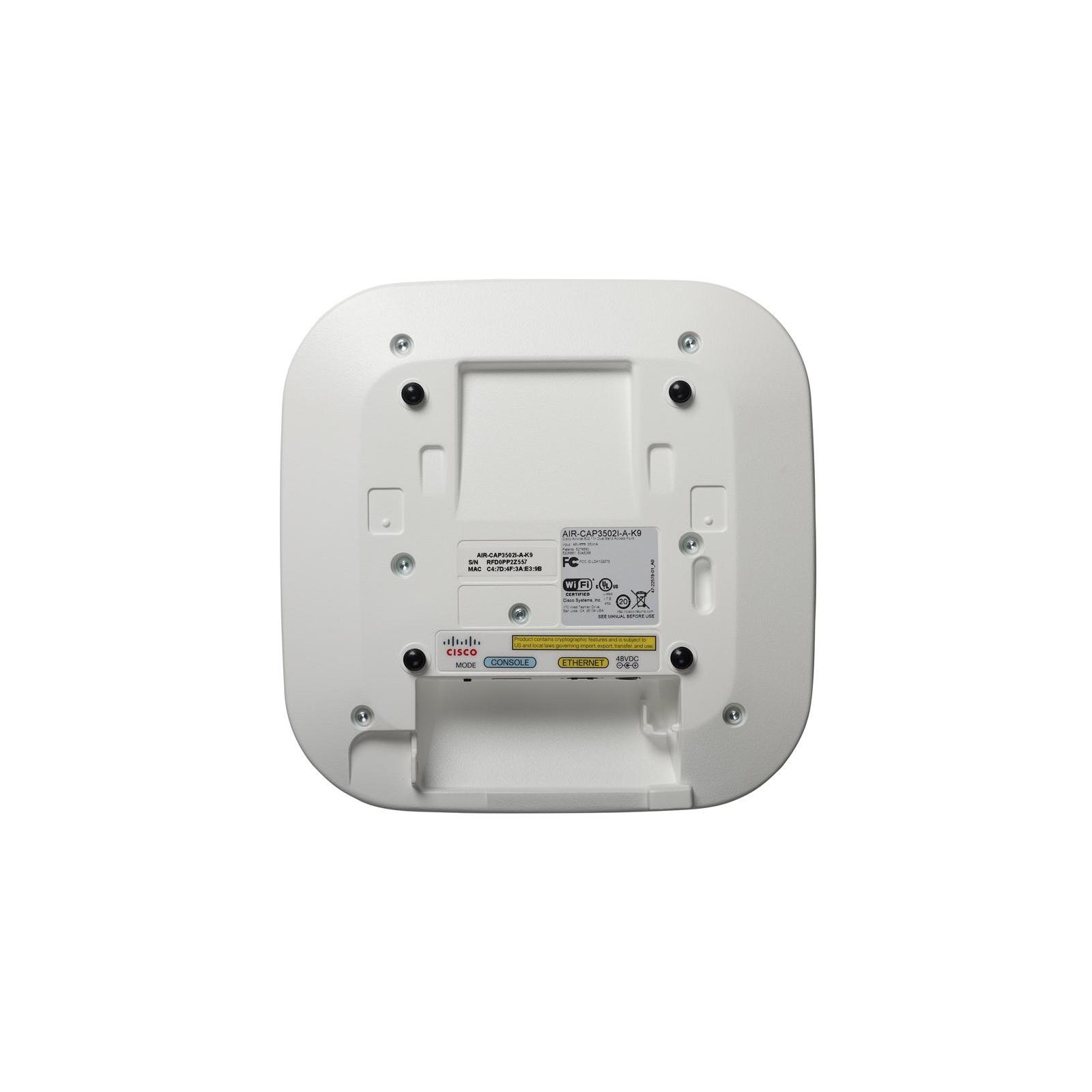 Точка доступа Wi-Fi Cisco AIR-CAP3502I-E (AIR-CAP3502I-E-K9) изображение 3