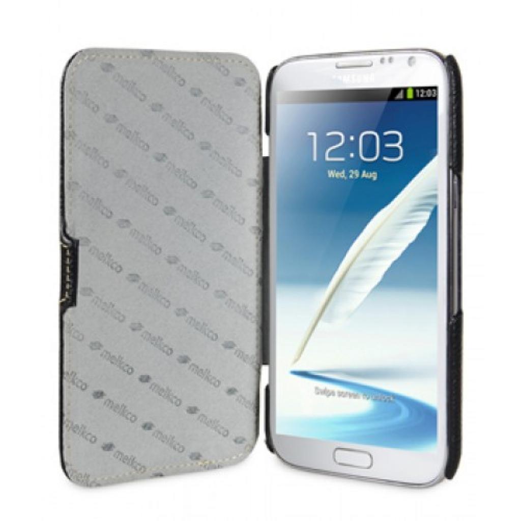 Чехол для моб. телефона Melkco для Samsung N7100 Galaxy Note 2 Booka Type black (SSNO71LCJB1BKNP) изображение 3