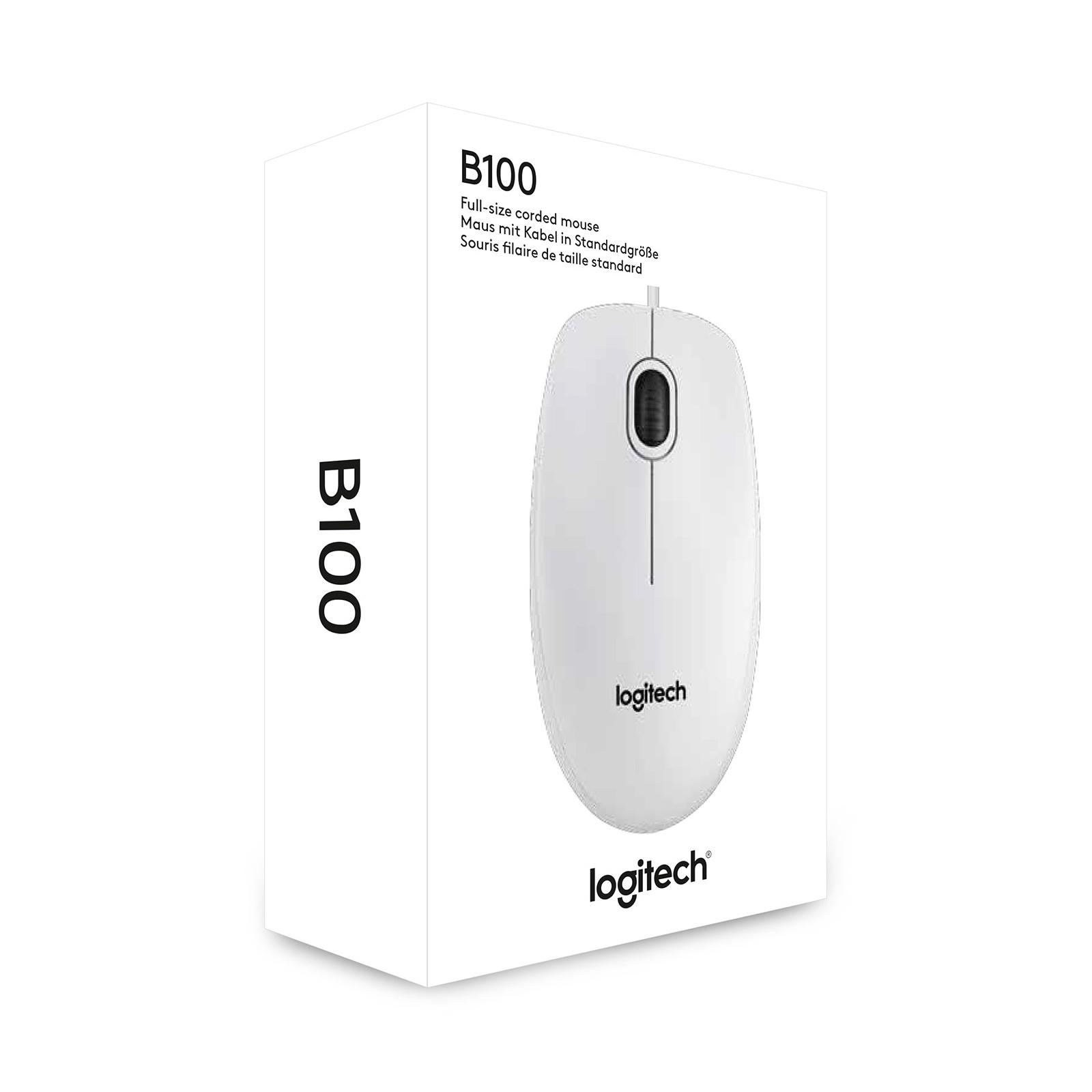 Мышка Logitech B100 (910-003360) изображение 3