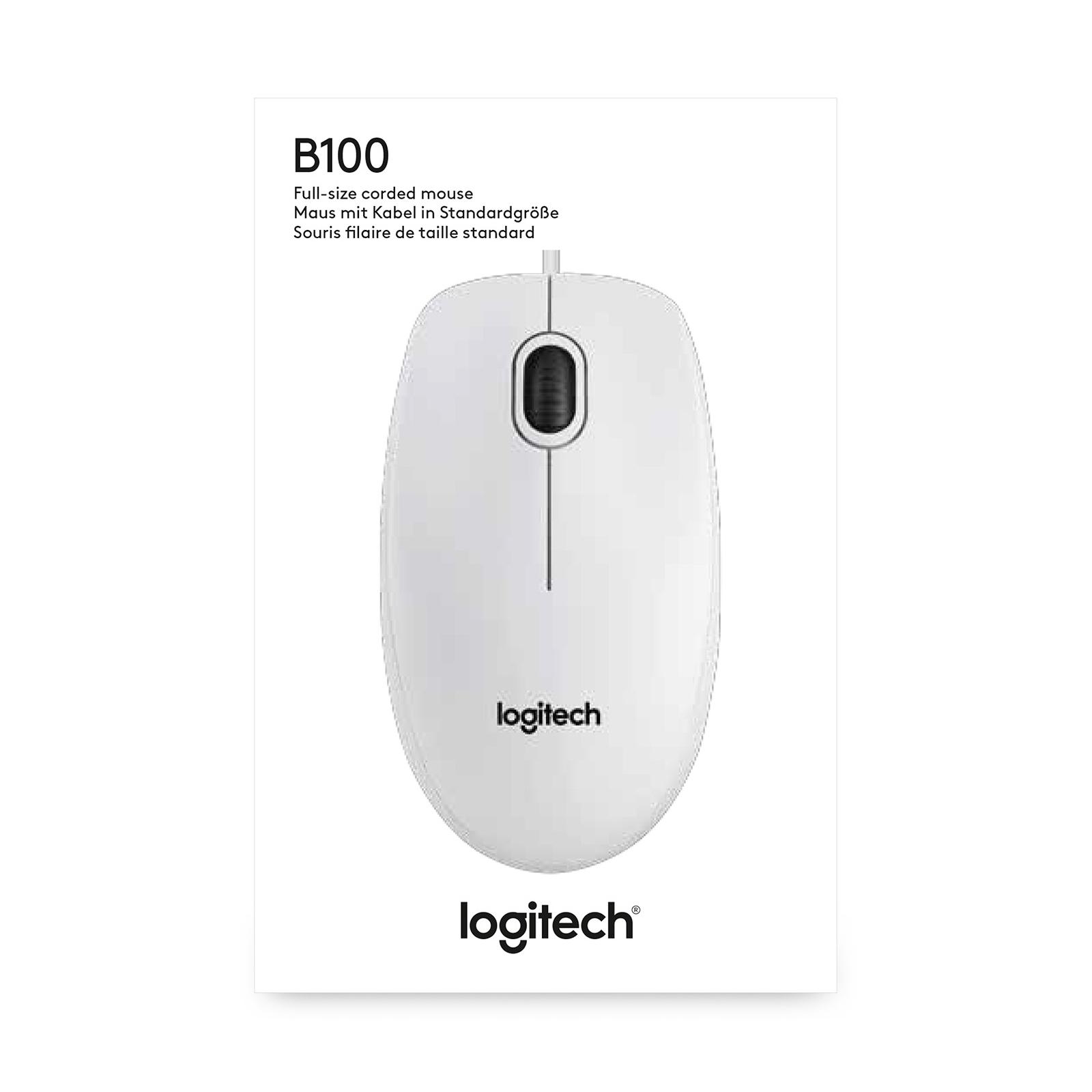 Мышка Logitech B100 (910-003360) изображение 4