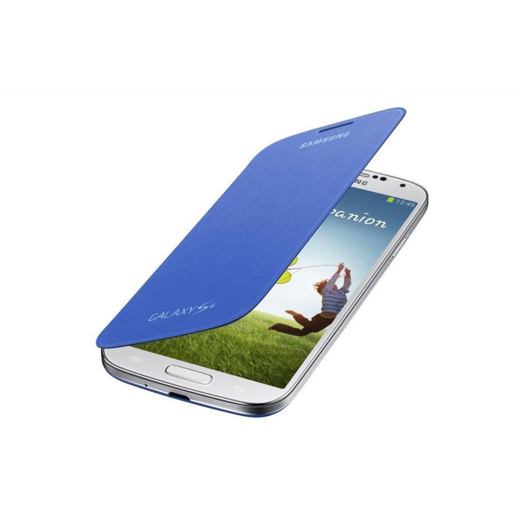 Чехол для моб. телефона Samsung I9500 Galaxy S4/Light Blue/Flip Cover (EF-FI950BCEGWW) изображение 2