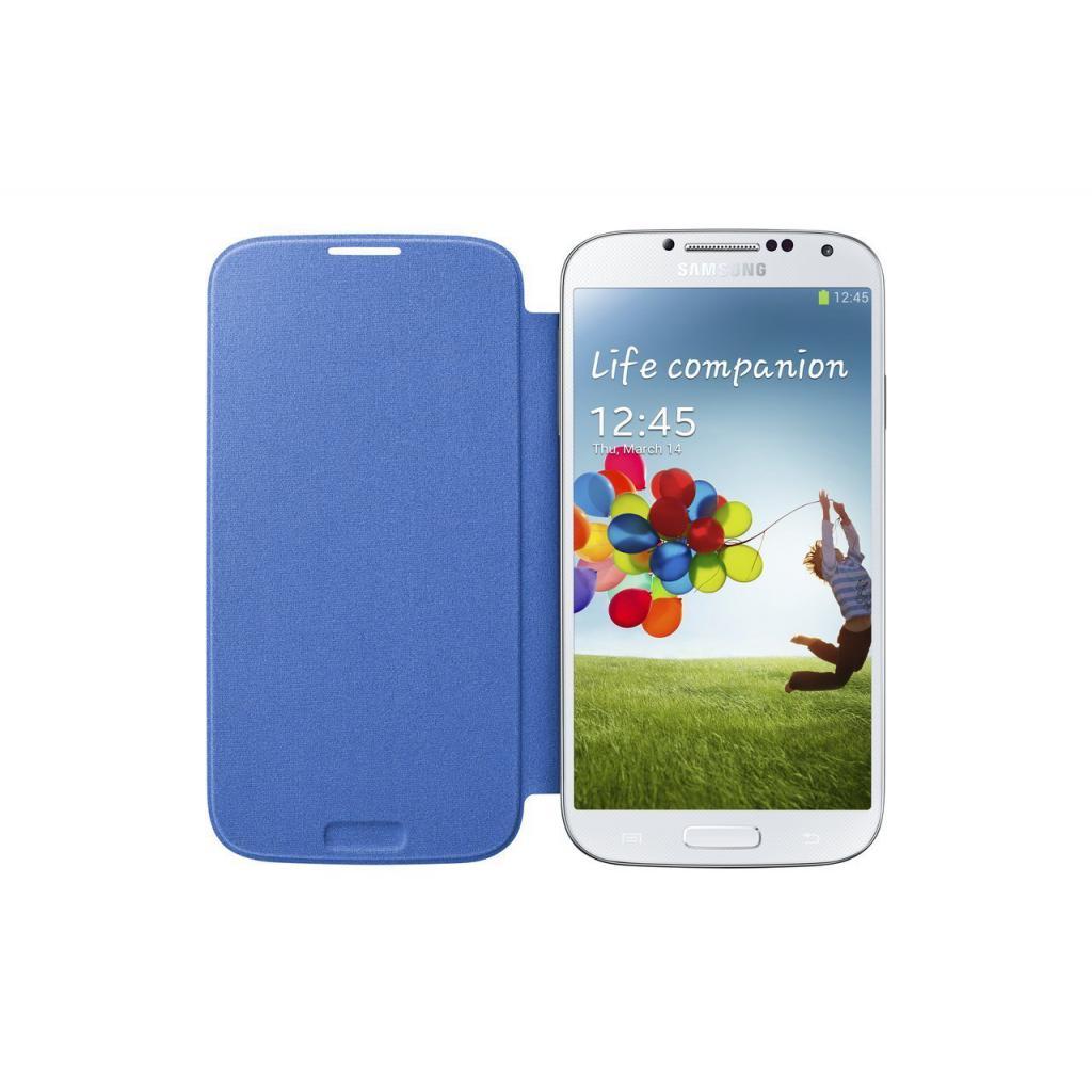 Чехол для моб. телефона Samsung I9500 Galaxy S4/Light Blue/Flip Cover (EF-FI950BCEGWW) изображение 3