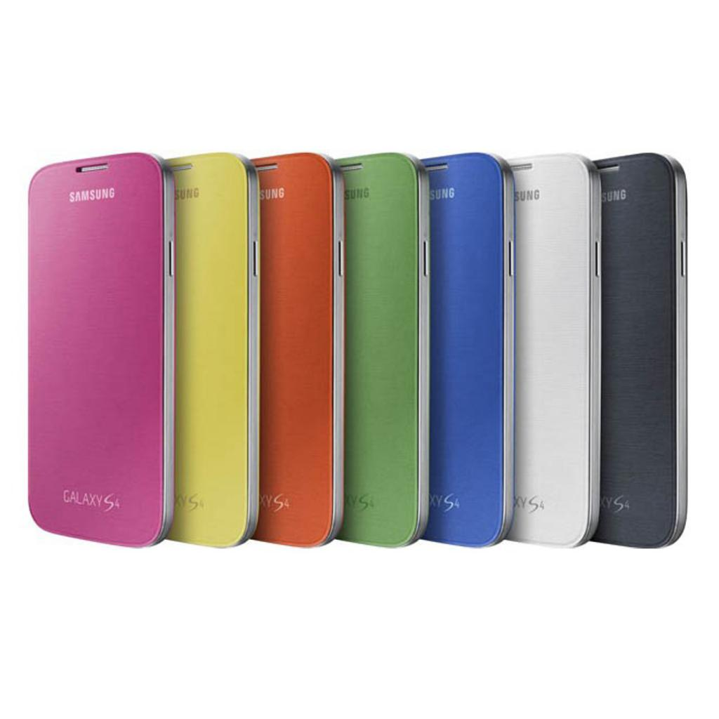 Чехол для моб. телефона Samsung I9500 Galaxy S4/Light Blue/Flip Cover (EF-FI950BCEGWW) изображение 6