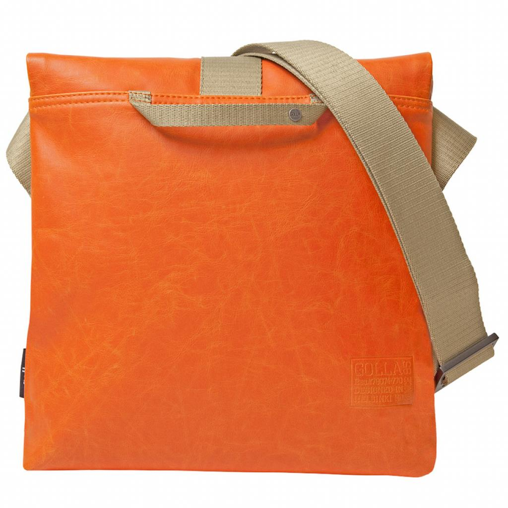 """Сумка для ноутбука Golla 11"""" G-Bag Claude polyurethane/Orange (G1449) изображение 2"""