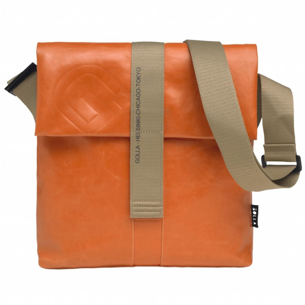 """Сумка для ноутбука Golla 11"""" G-Bag Claude polyurethane/Orange (G1449)"""