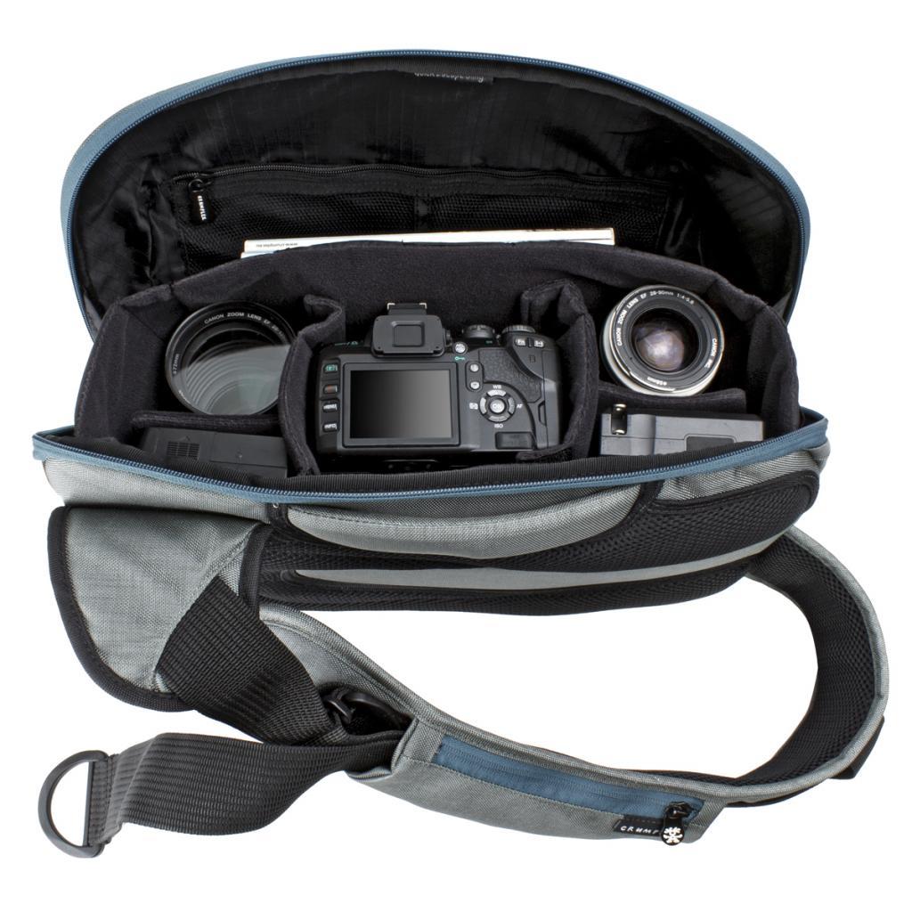 Рюкзак для фототехники Crumpler Quick Escape Sling (dk. mouse grey) (QES-002) изображение 2