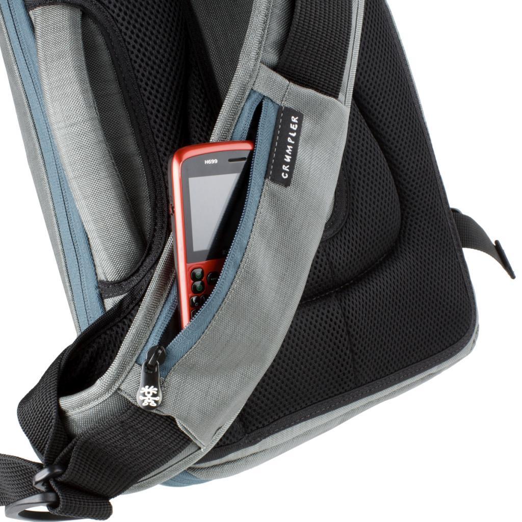Рюкзак для фототехники Crumpler Quick Escape Sling (dk. mouse grey) (QES-002) изображение 3