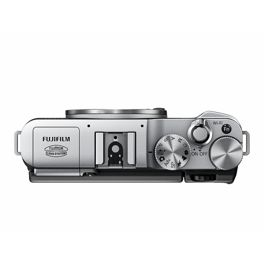 Цифровой фотоаппарат Fujifilm FinePix X-M1 body silver (16390249) изображение 3