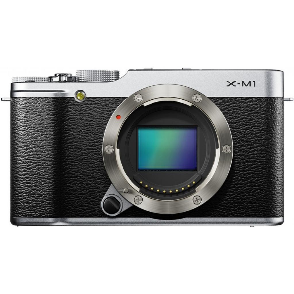 Цифровой фотоаппарат Fujifilm FinePix X-M1 body silver (16390249)