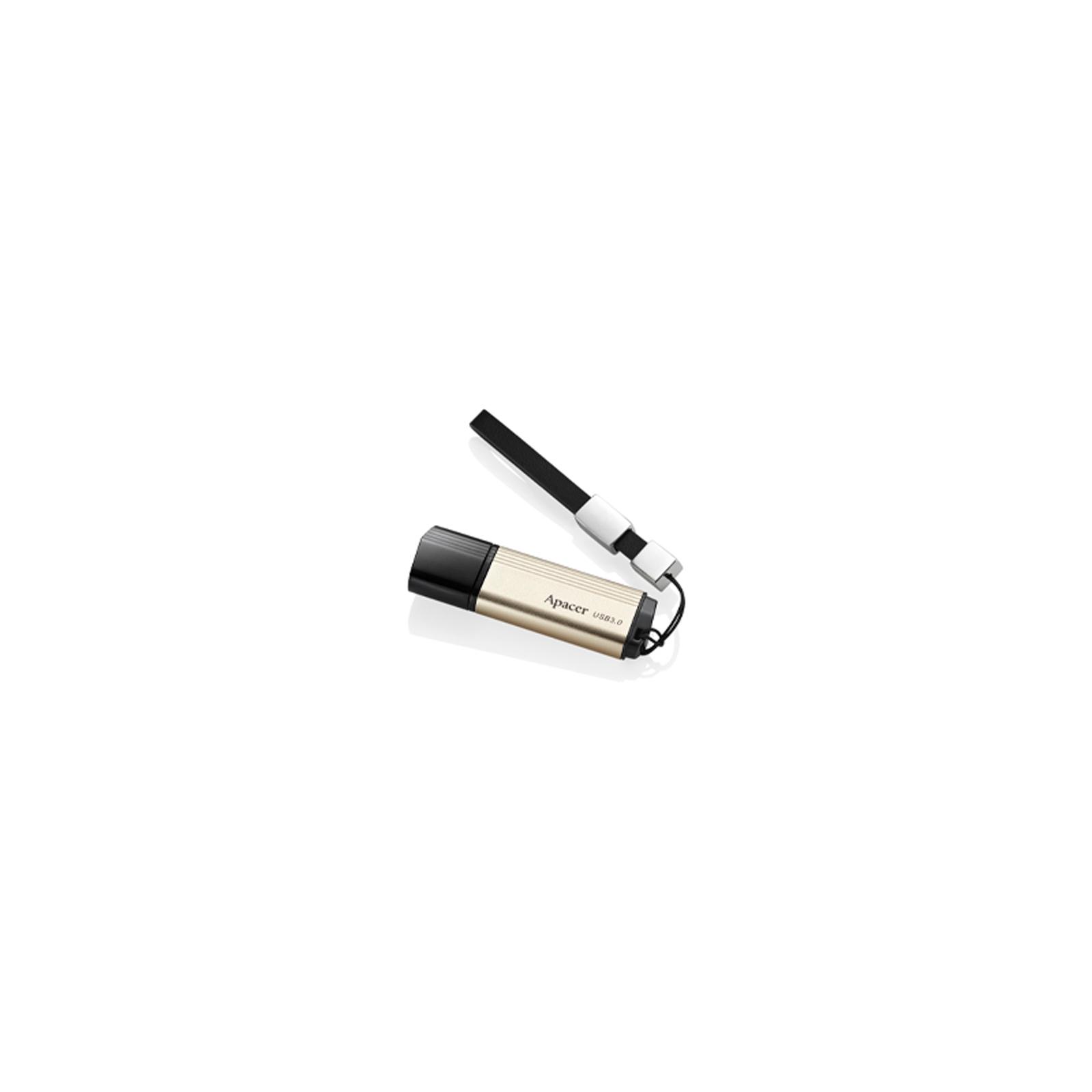 USB флеш накопитель 32GB AH353 Champagne Gold RP USB3.0 Apacer (AP32GAH353C-1) изображение 4