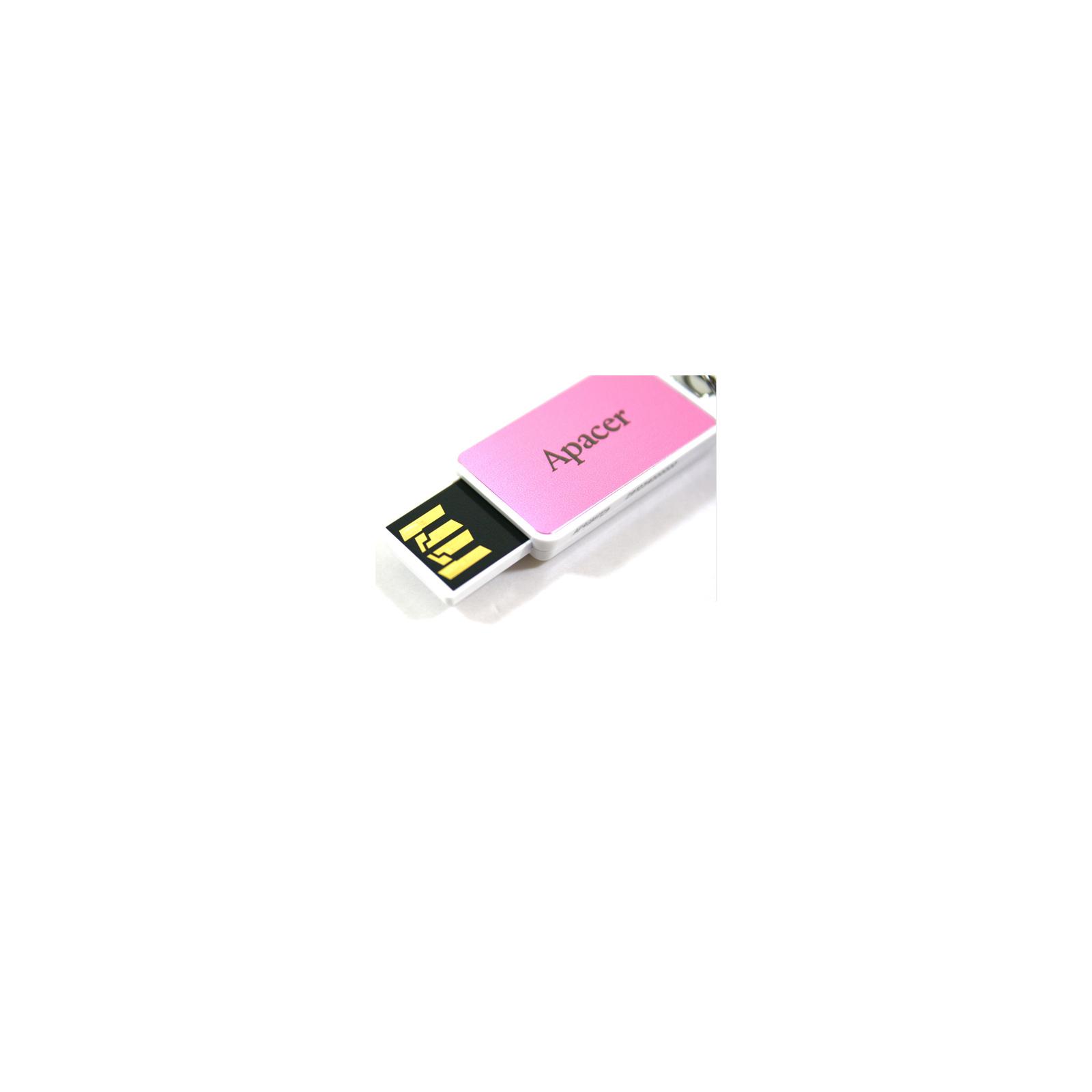 USB флеш накопитель 32GB AH129 Pink RP USB2.0 Apacer (AP32GAH129P-1) изображение 6