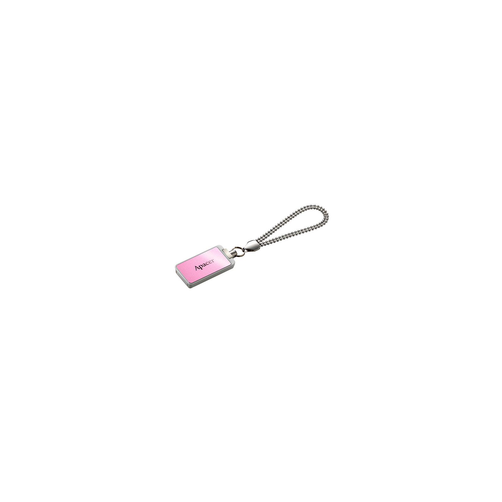 USB флеш накопитель 32GB AH129 Pink RP USB2.0 Apacer (AP32GAH129P-1)