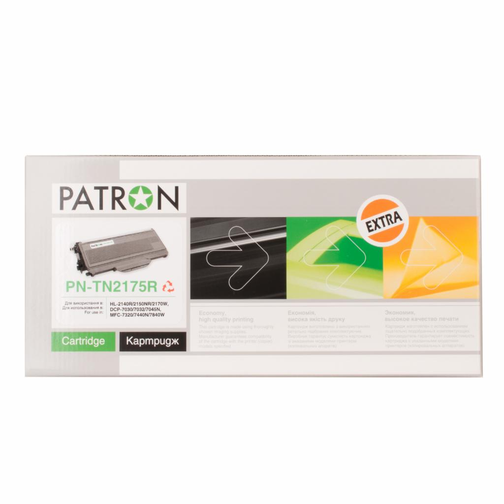 Картридж PATRON BROTHER TN-2175 (PN-TN2175R) Extra (CT-BRO-TN-2175-PN-R) изображение 2