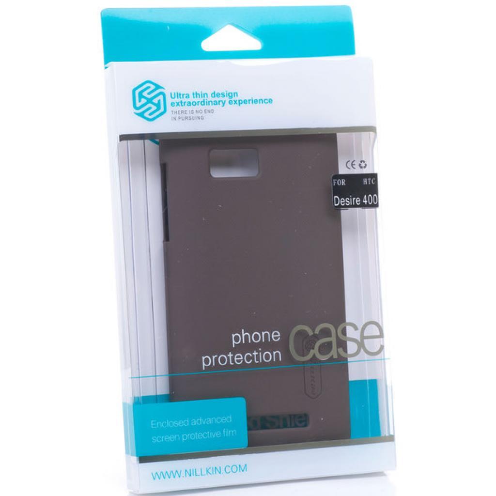 Чехол для моб. телефона NILLKIN для HTC Desire 400 /Super Frosted Shield/Black (6120355)