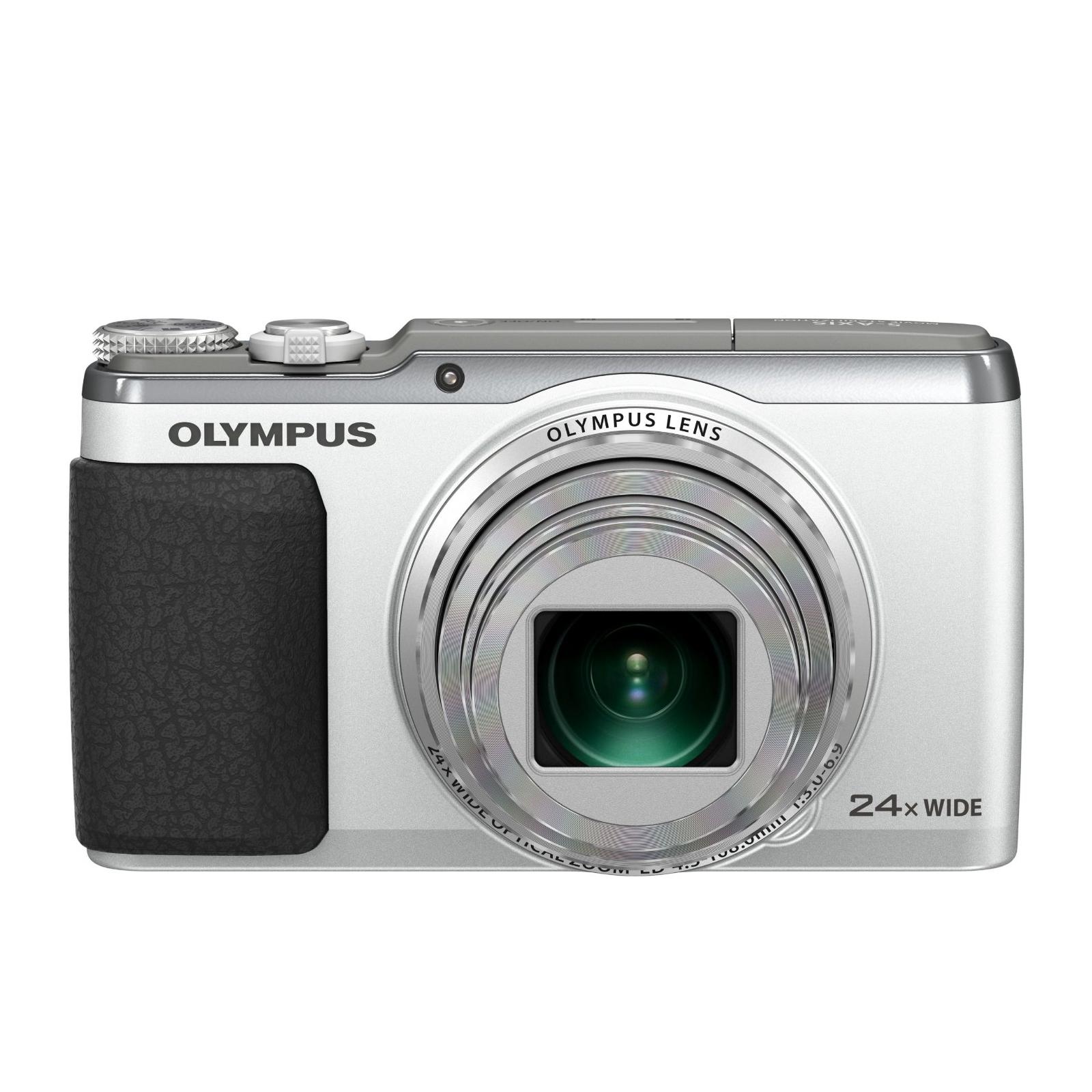 Цифровой фотоаппарат OLYMPUS SH-60 Silver (V107070SE000) изображение 2