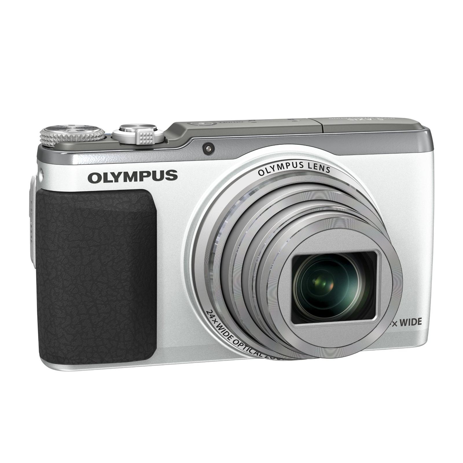 Цифровой фотоаппарат OLYMPUS SH-60 Silver (V107070SE000) изображение 3