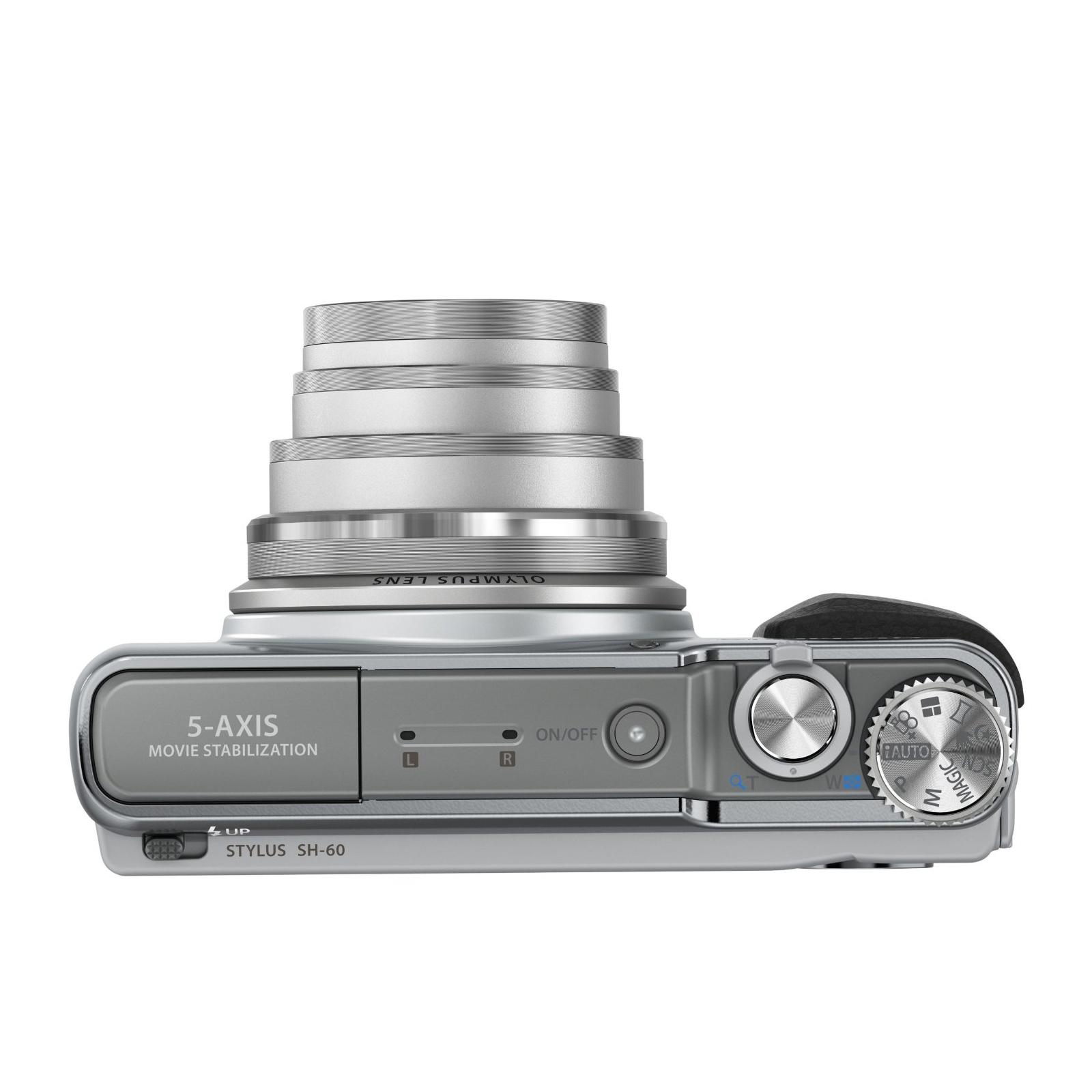 Цифровой фотоаппарат OLYMPUS SH-60 Silver (V107070SE000) изображение 5