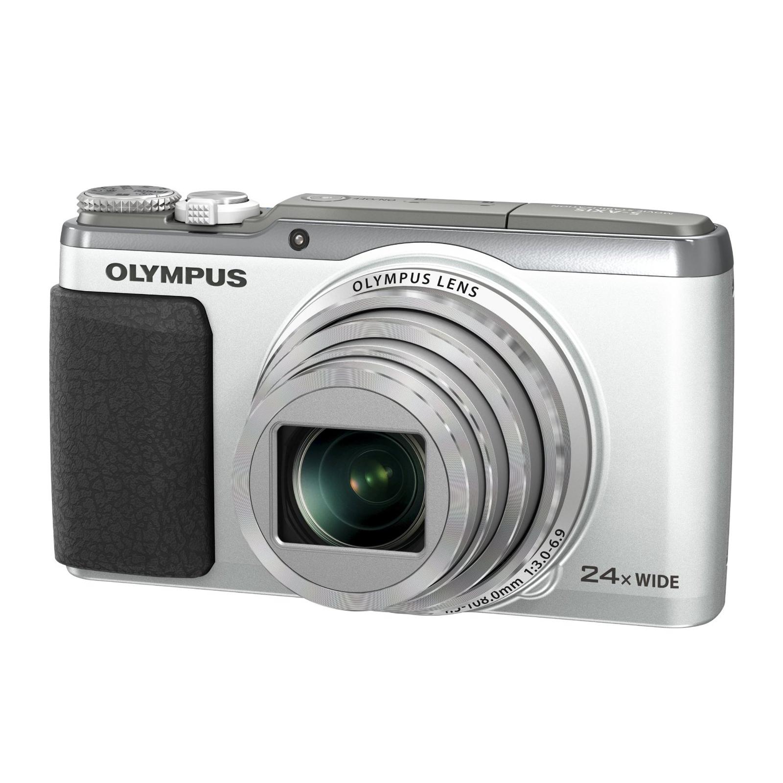 Цифровой фотоаппарат OLYMPUS SH-60 Silver (V107070SE000)
