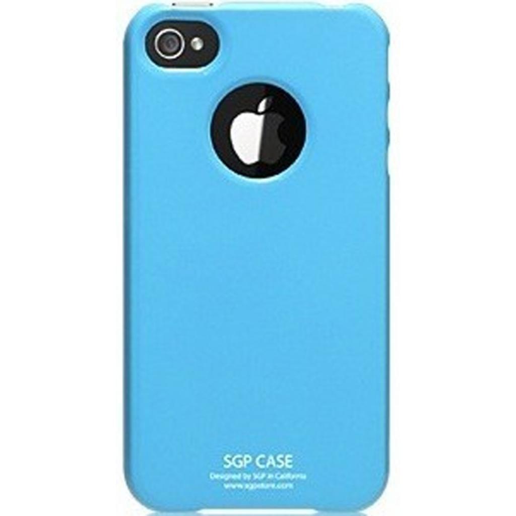 Чехол для моб. телефона Pro-case iPhone 4 ultra thin blue (PCUT4SBL)