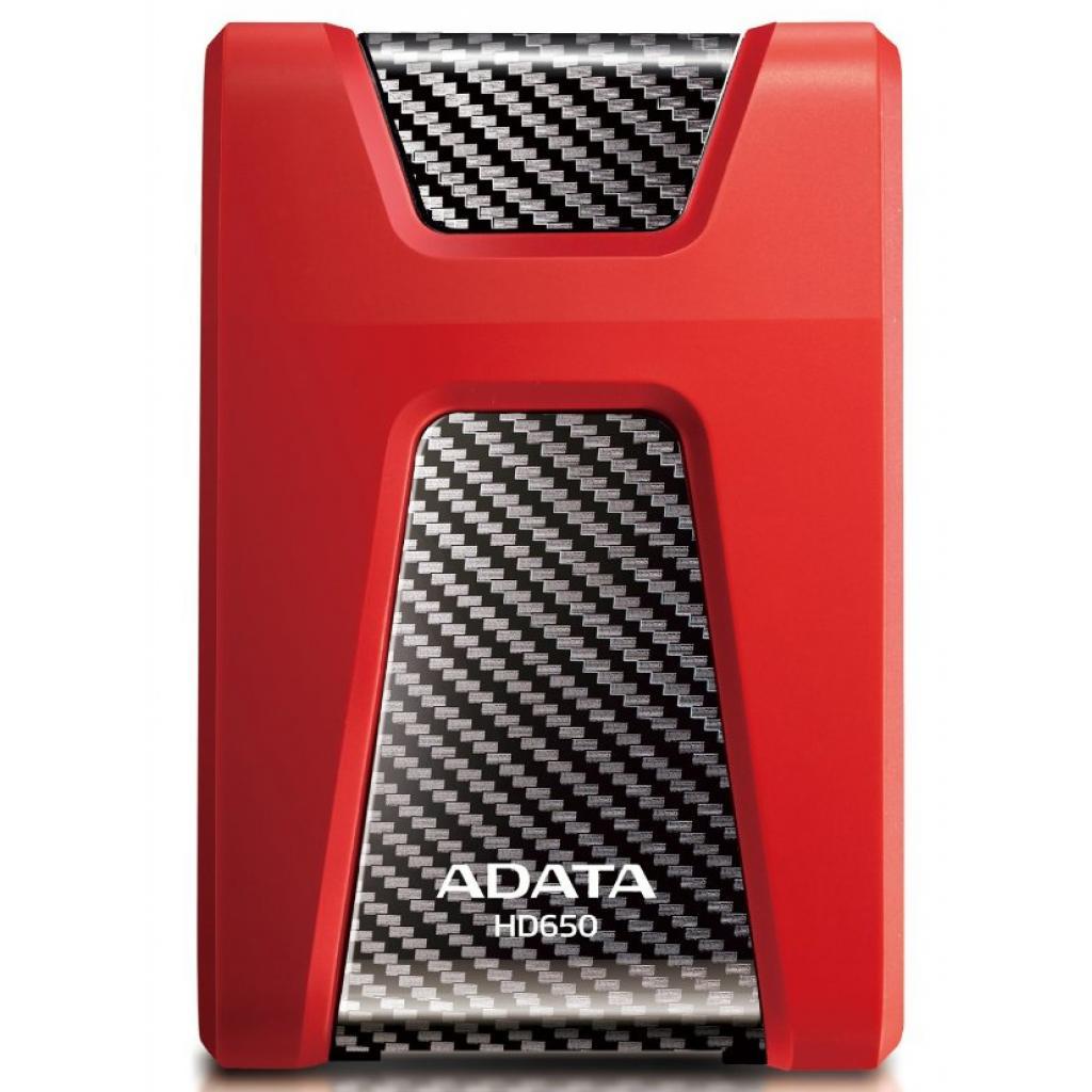 """Внешний жесткий диск 2.5"""" 1TB ADATA (AHD650-1TU3-CRD) изображение 2"""