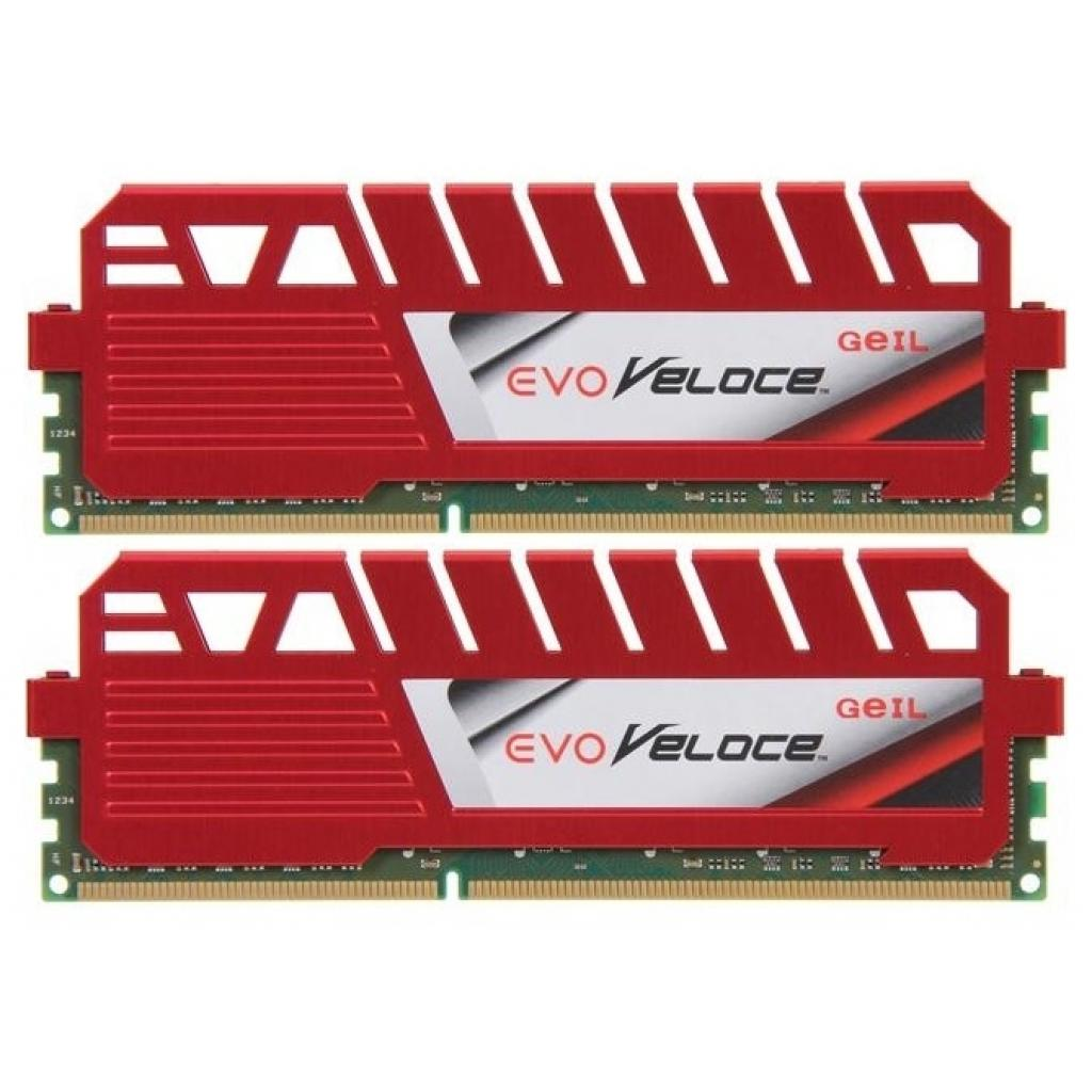 Модуль памяти для компьютера DDR3 16GB (2x8GB) 1600 MHz VELOCE Heatsink GEIL (GEV316GB1600C11DC)