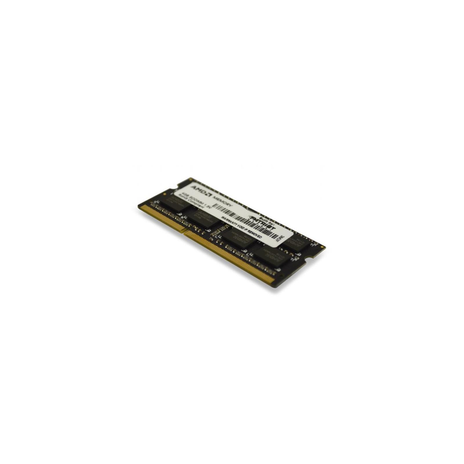 Модуль памяти для ноутбука SoDIMM DDR3 8GB 1600 MHz AMD (R538G1601S2S-U)