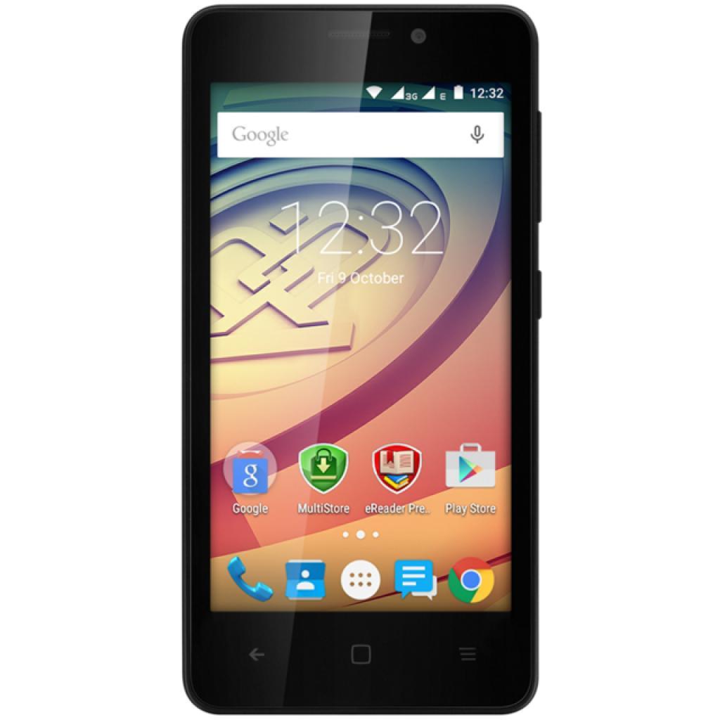 Мобильный телефон PRESTIGIO MultiPhone 3457 Wize F3 DUO Black (PSP3457DUOBLACK)