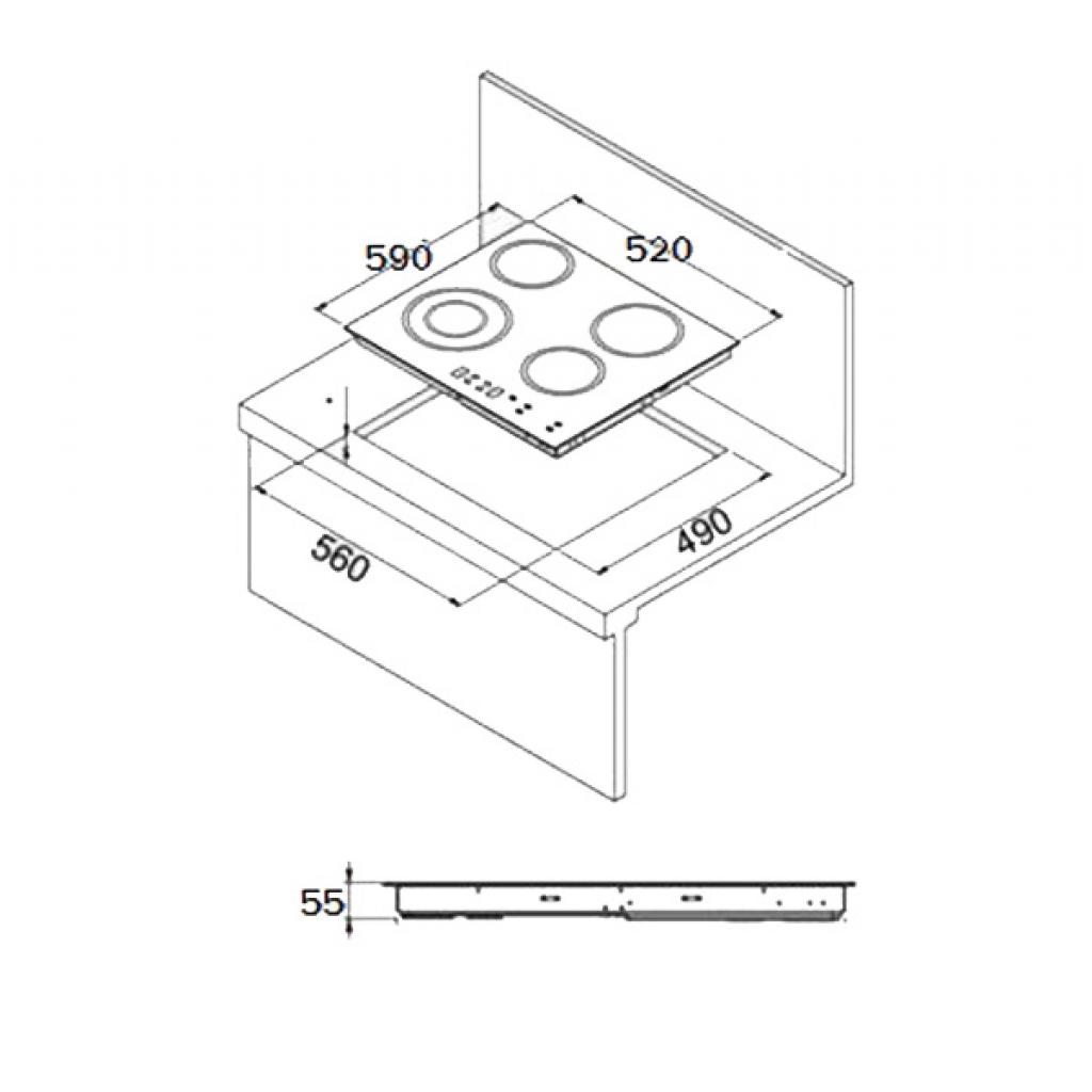 Варочная поверхность LIBERTY PH 6040 B(501) изображение 2