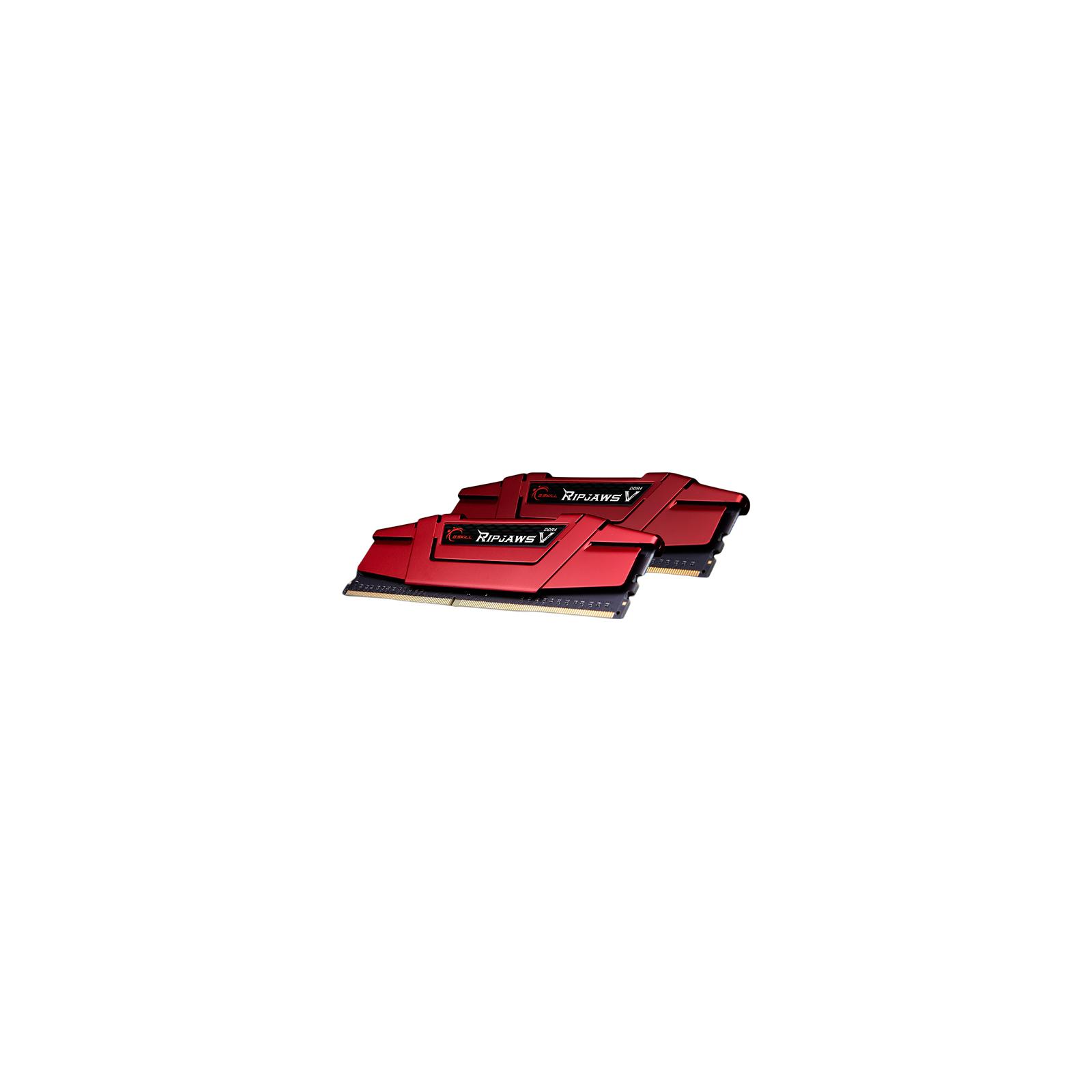 Модуль памяти для компьютера DDR4 32GB (2x16GB) 2133 MHz Ripjaws V G.Skill (F4-2133C15D-32GVR) изображение 2
