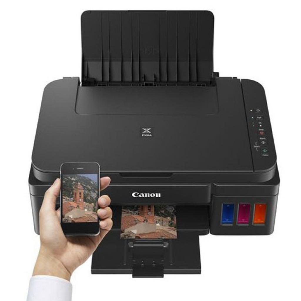 Многофункциональное устройство Canon PIXMA G3400 c Wi-Fi (0630C009) изображение 4