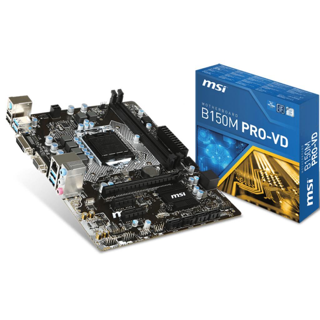 Материнская плата MSI B150M PRO-VD