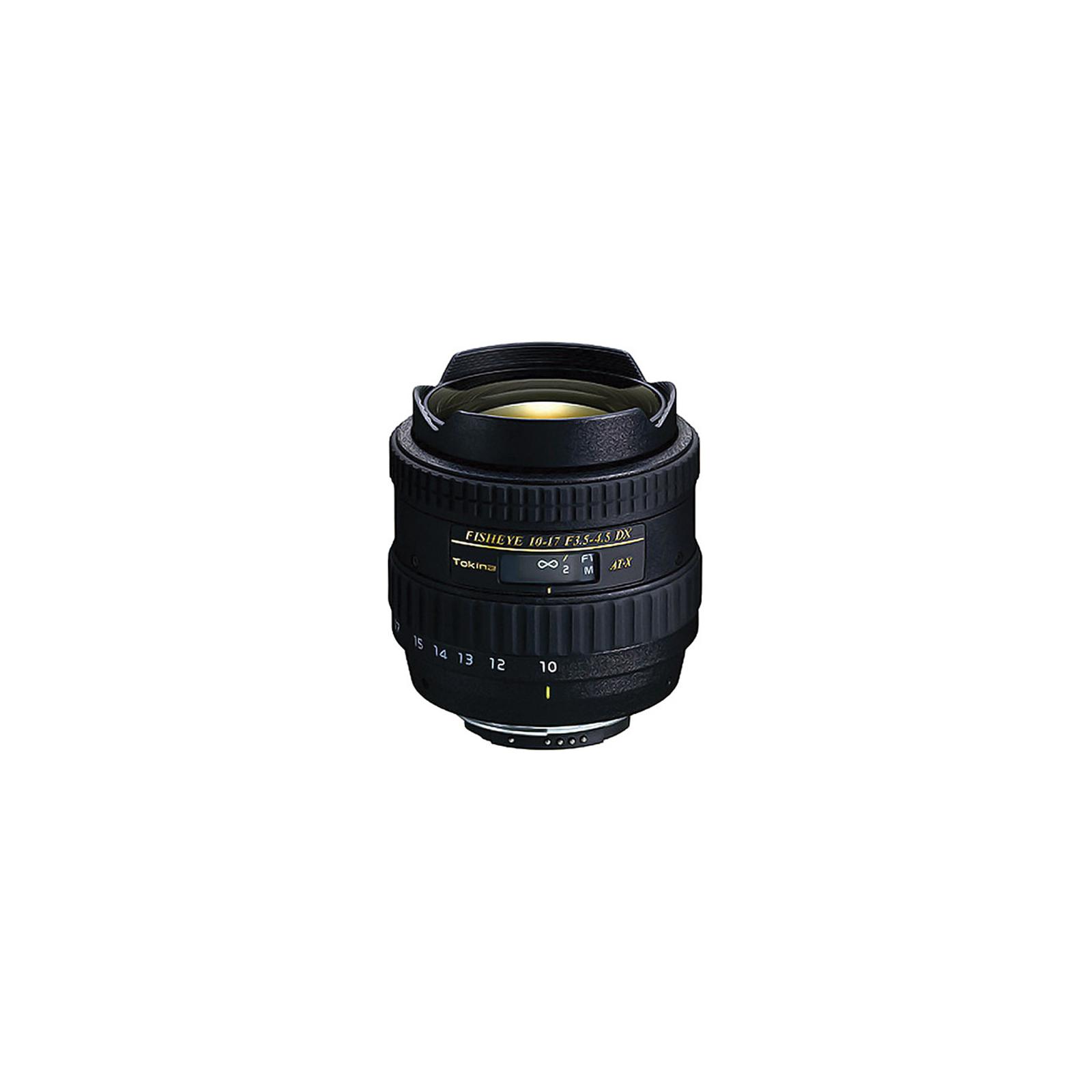 Объектив Tokina AT-X DX 10-17mm f/3.5-4.5 Fisheye (Nikon) (ATXAF107DXN)