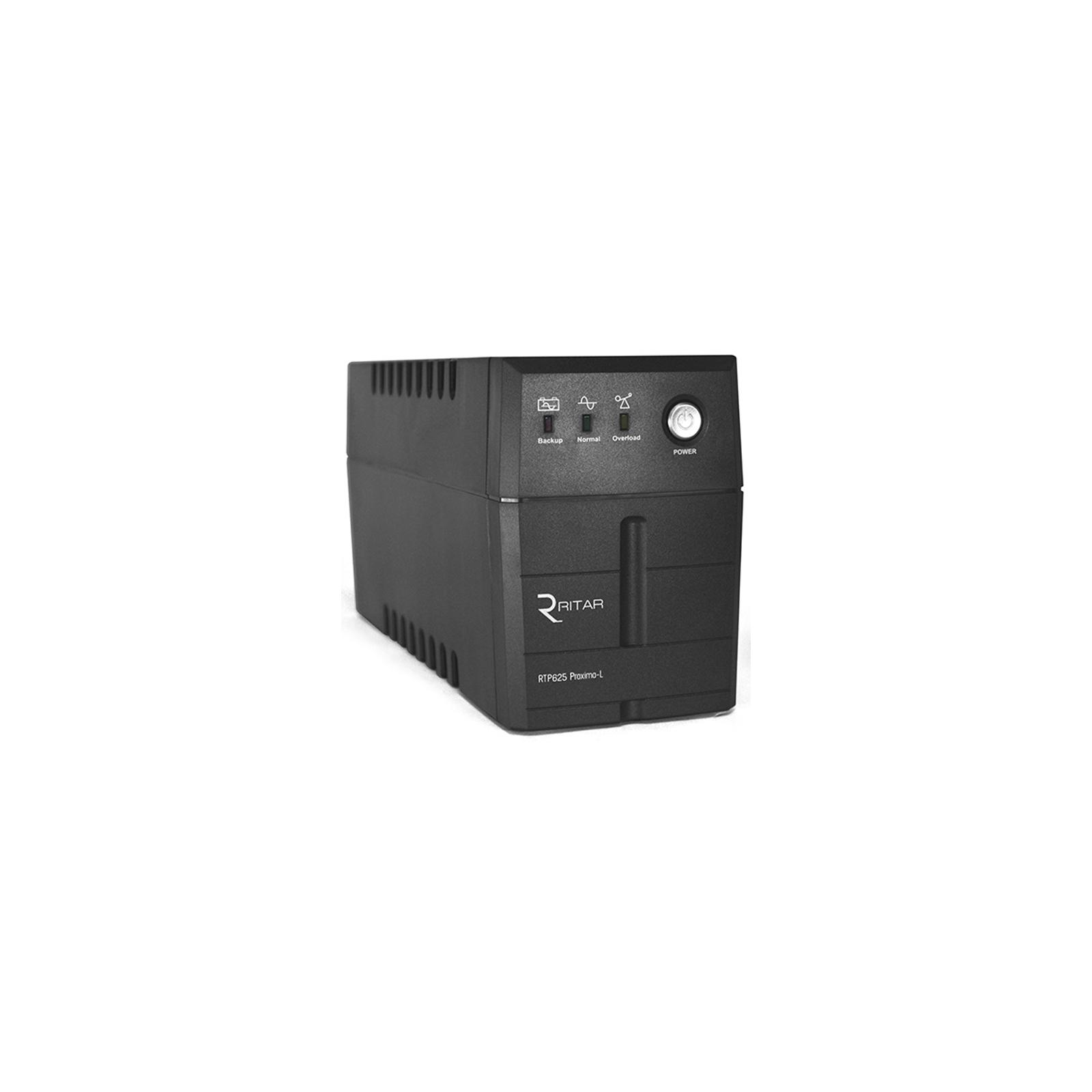Источник бесперебойного питания Ritar RTP625 (375W) Proxima-L (RTP625L)