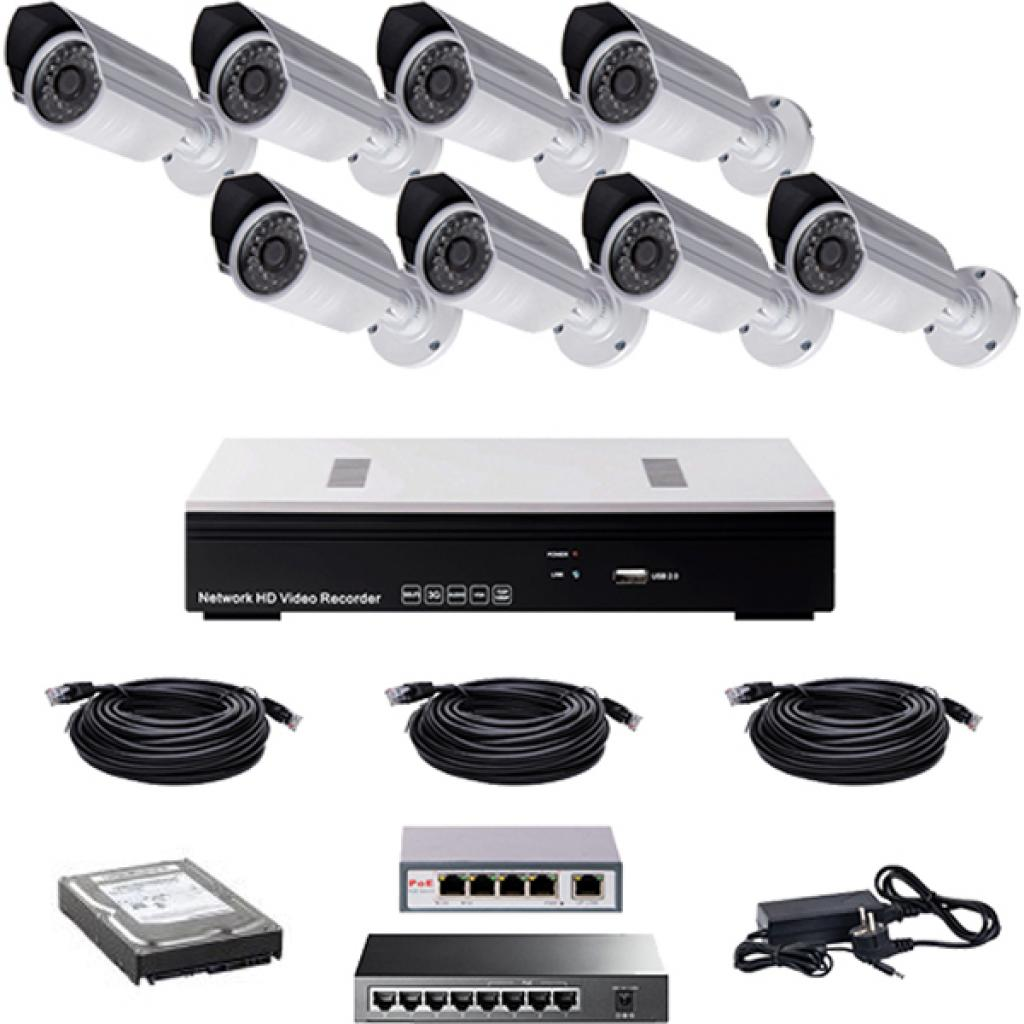 Комплект видеонаблюдения CoVi NVK-4002 POE KIT