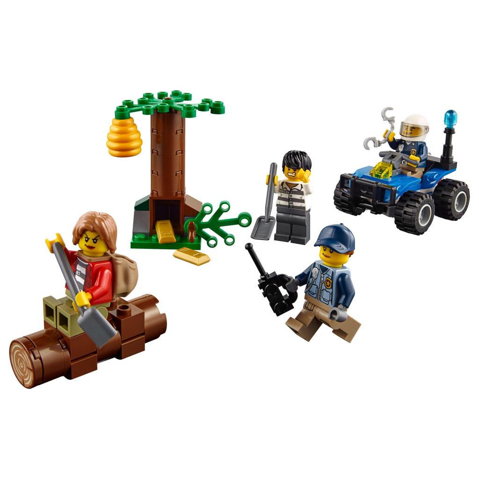 Конструктор LEGO City Police Беглецы в горах (60171) изображение 2