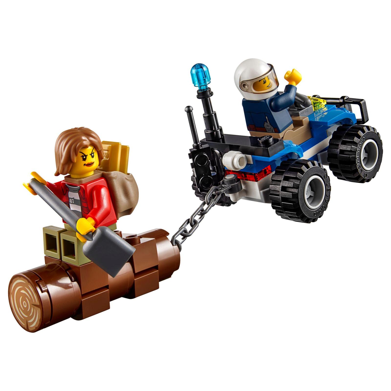 Конструктор LEGO City Police Беглецы в горах (60171) изображение 6