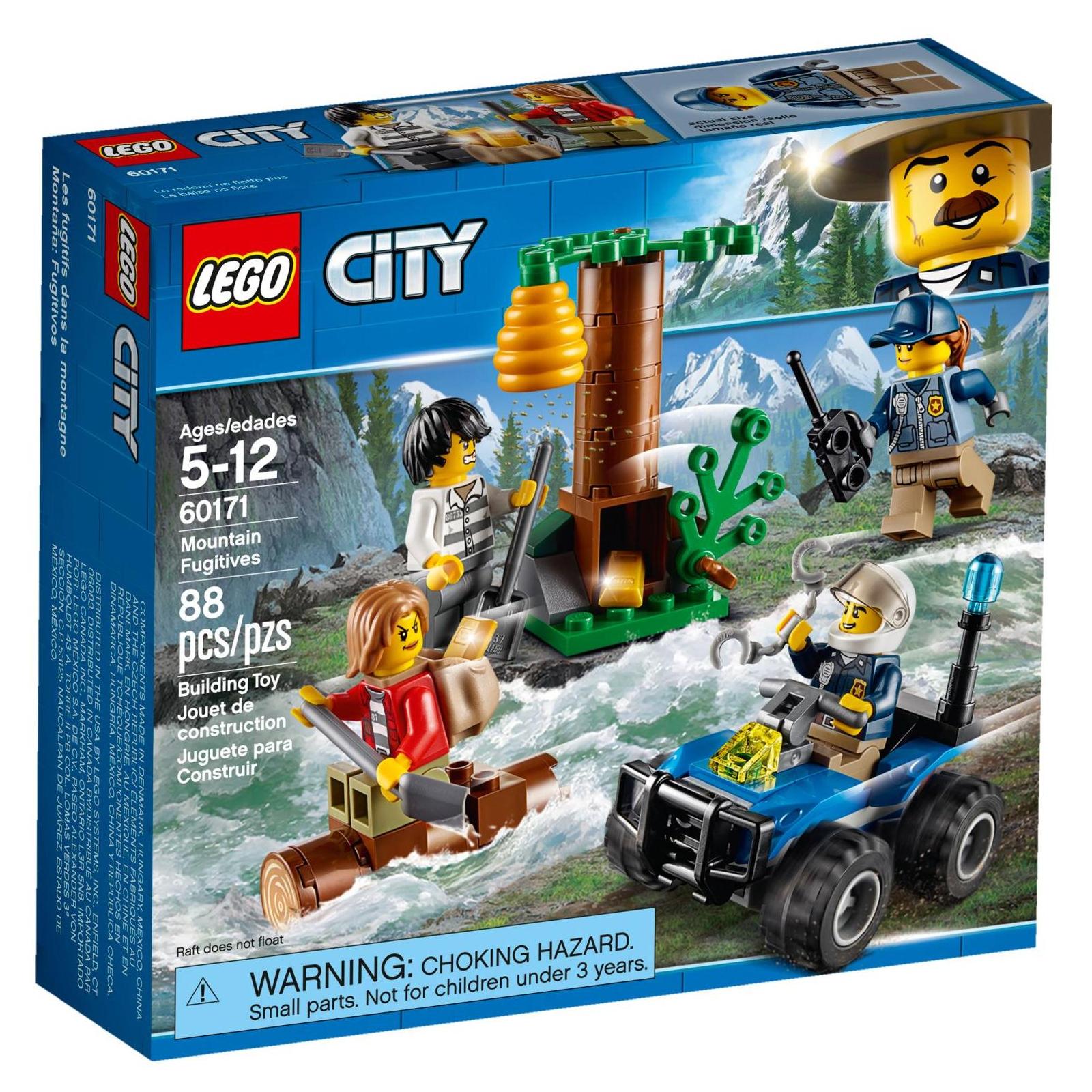 Конструктор LEGO City Police Беглецы в горах (60171)