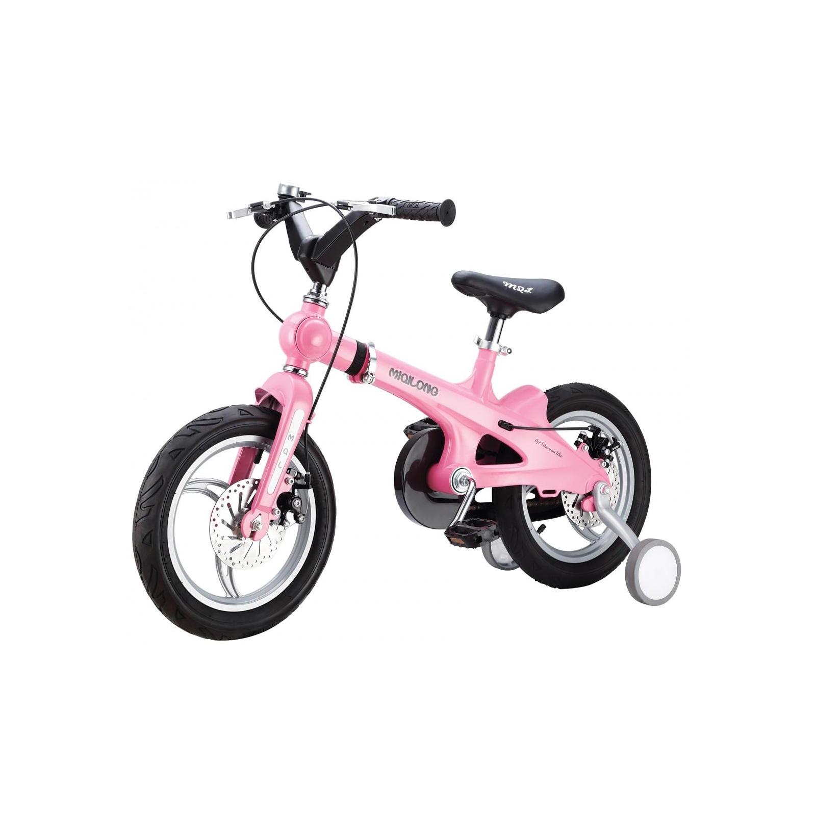 Детский велосипед Miqilong SSB Розовый 16` (MQL-SSB16-Pink)