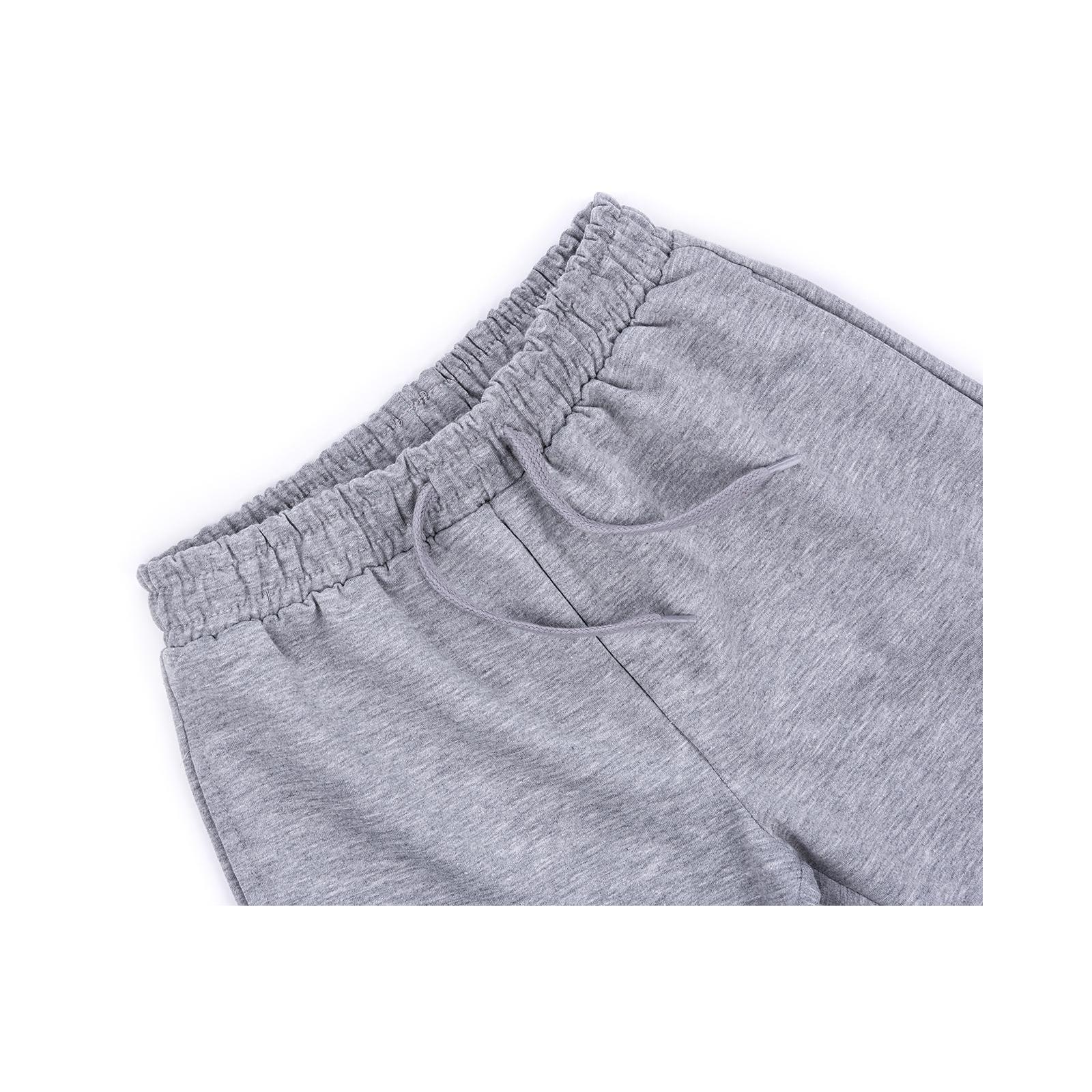 Шорты Breeze трикотажные с карманами (10755-128B-gray) изображение 3