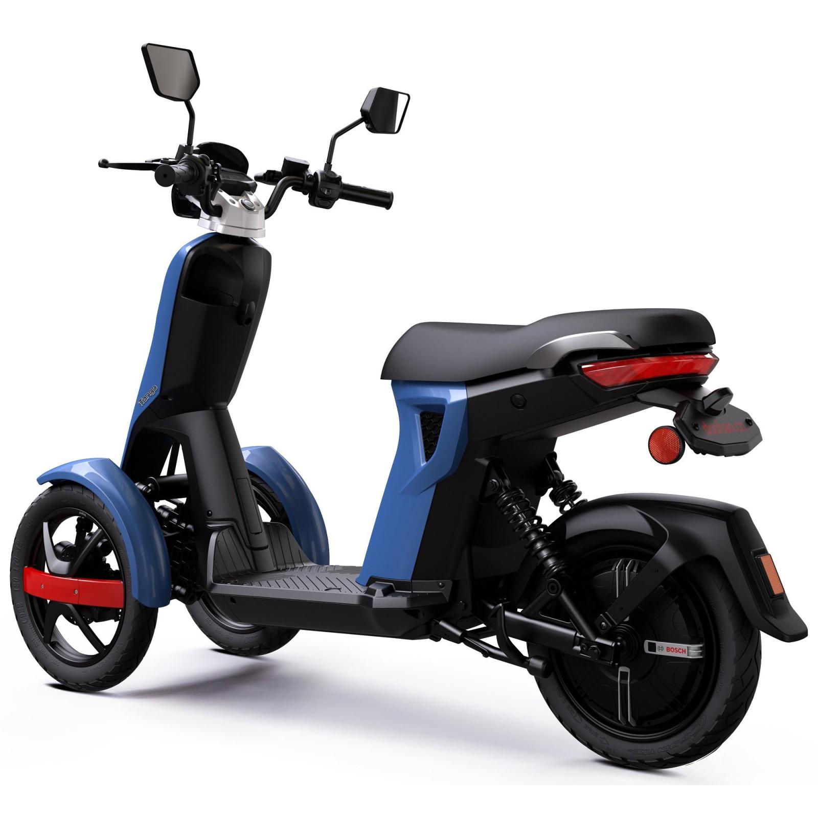 Электроскутер Doohan iTango HO Blue изображение 4