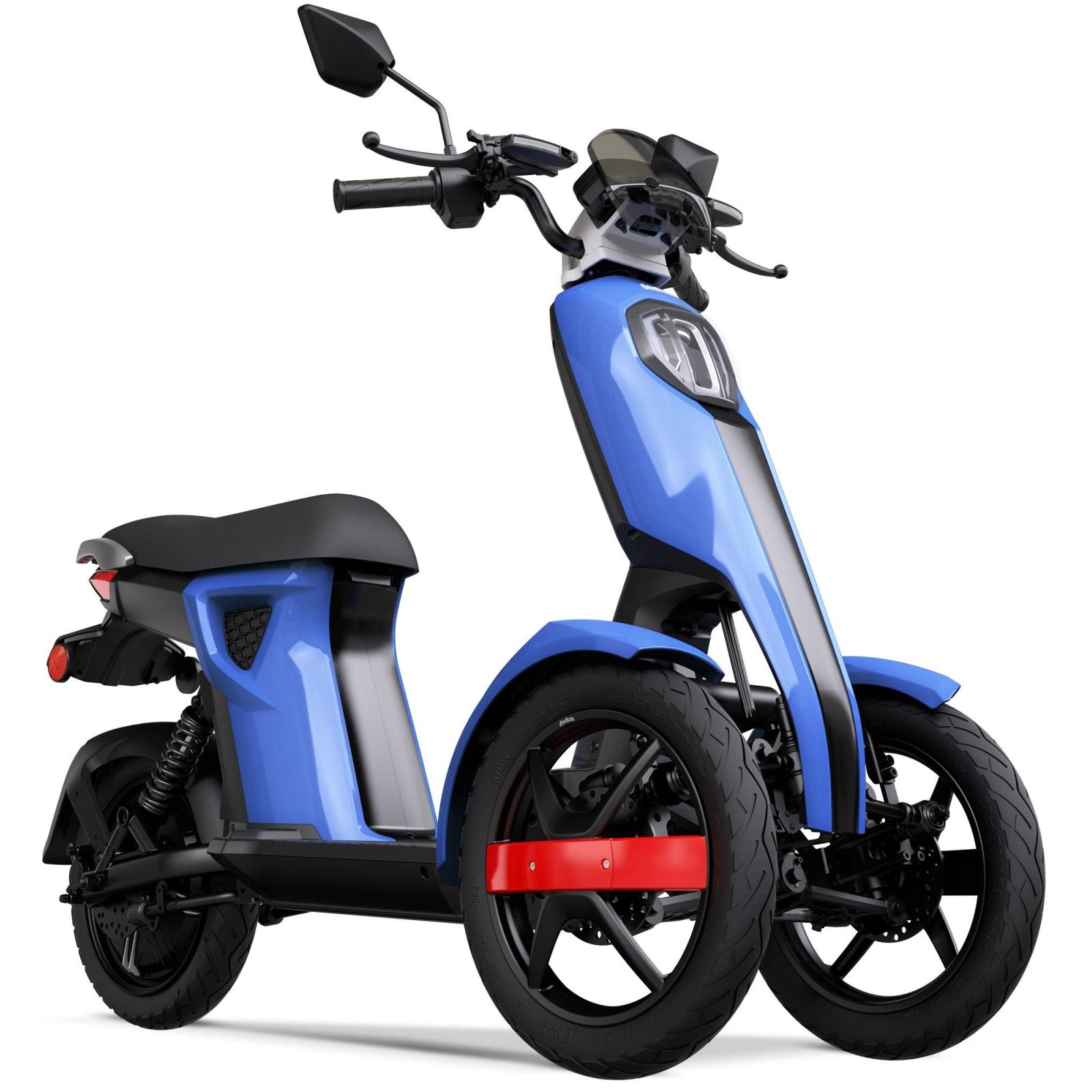 Электроскутер Doohan iTango HO Blue