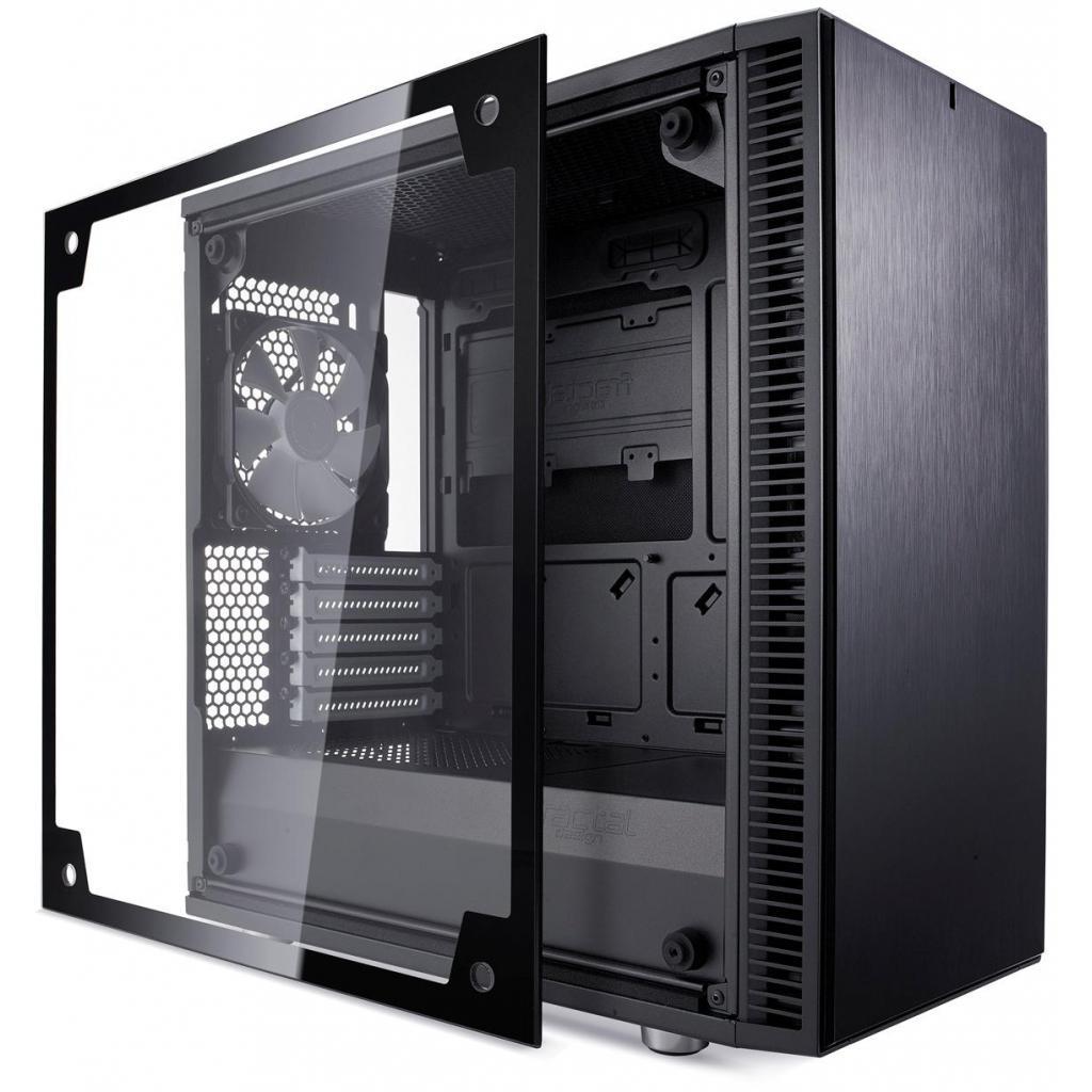 Корпус Fractal Design DEFINE MINI C BLack (FD-CA-DEF-MINI-C-BK-TG) изображение 6