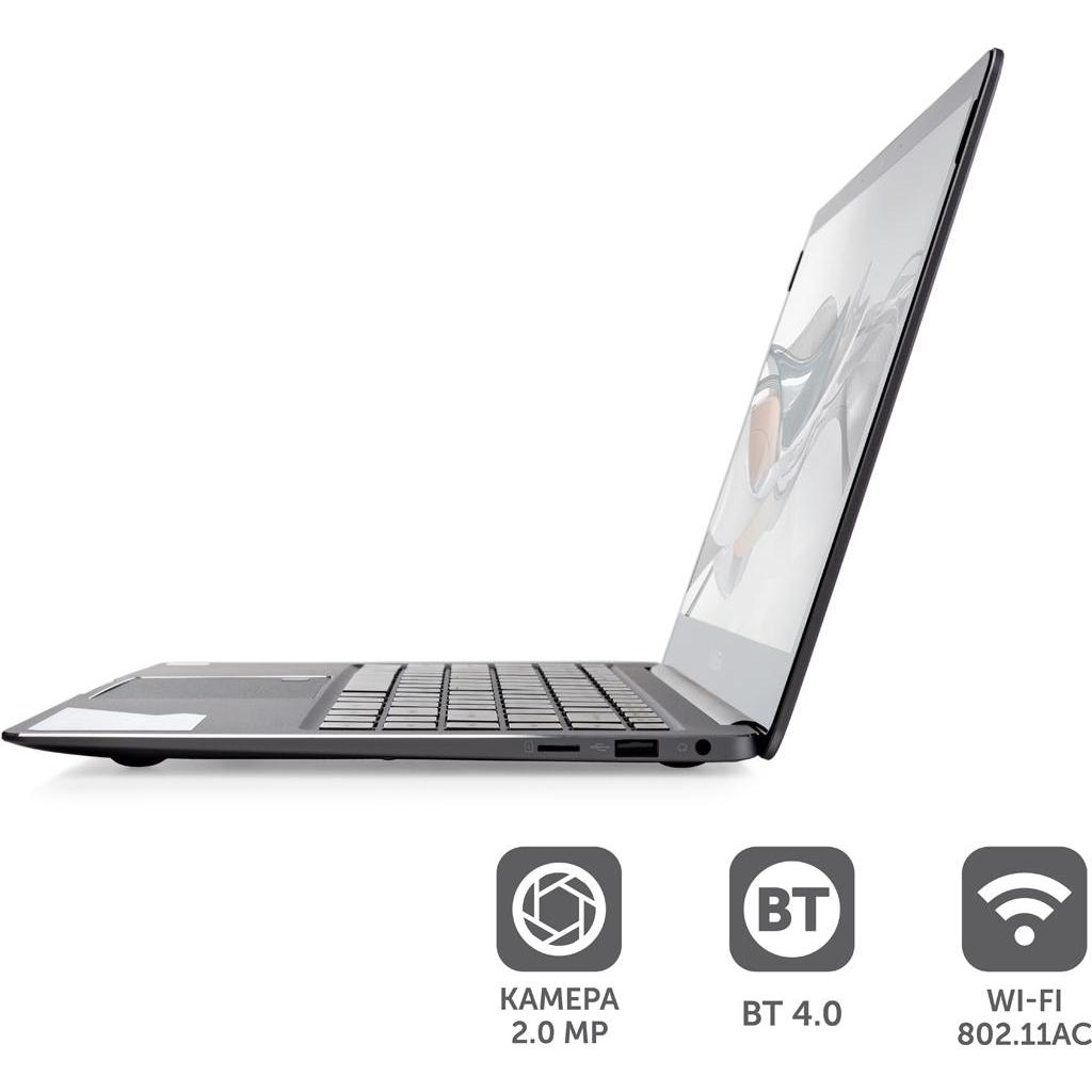 Ноутбук Vinga Iron S140 (S140-P50464GWP) изображение 3