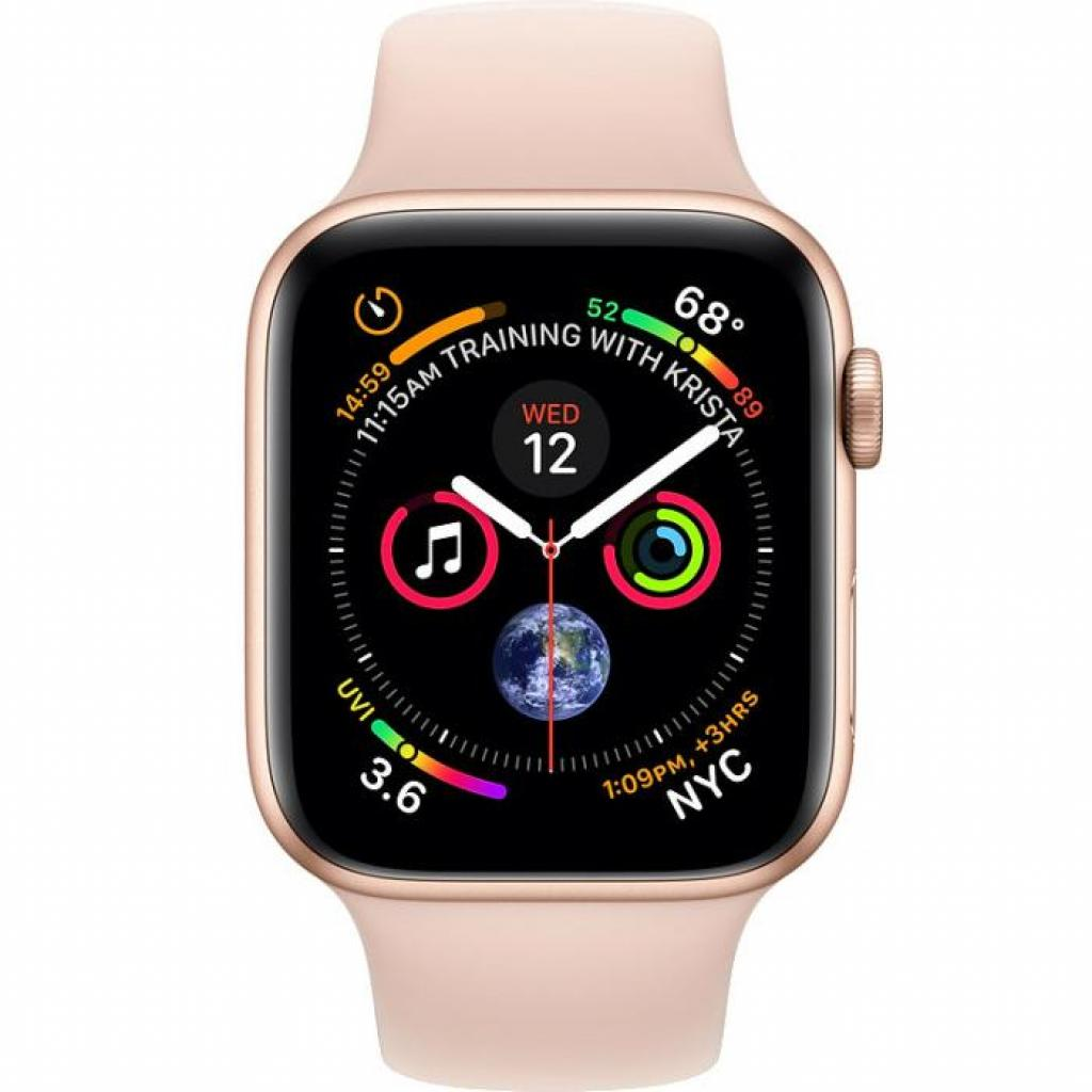 Смарт-часы Apple Watch Series 4 GPS, 40mm Gold Aluminium Case (MU682UA/A) изображение 2