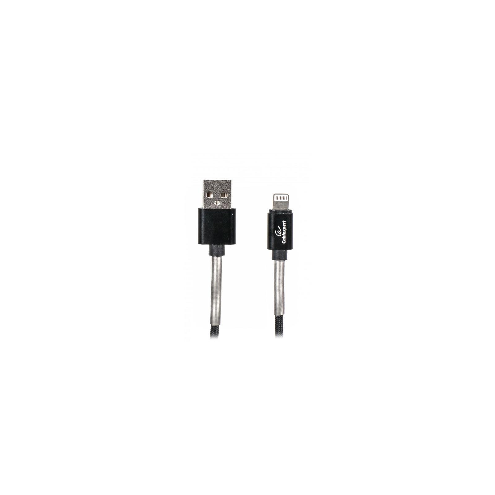 Дата кабель USB 2.0 AM to Lightning 1.0m Cablexpert (CCPB-L-USB-06BK)